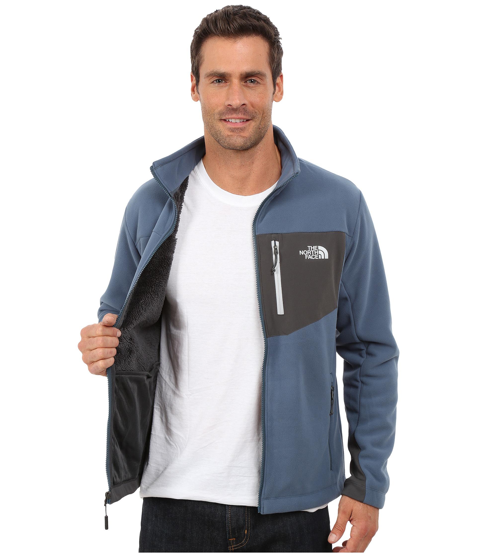 5170a7017cd0 Lyst - The North Face Chimborazo Full Zip Fleece in Blue for Men