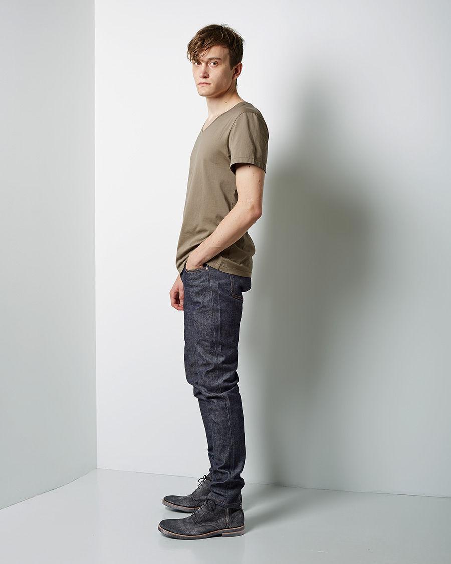 a p c petit new standard jean in blue for men lyst. Black Bedroom Furniture Sets. Home Design Ideas