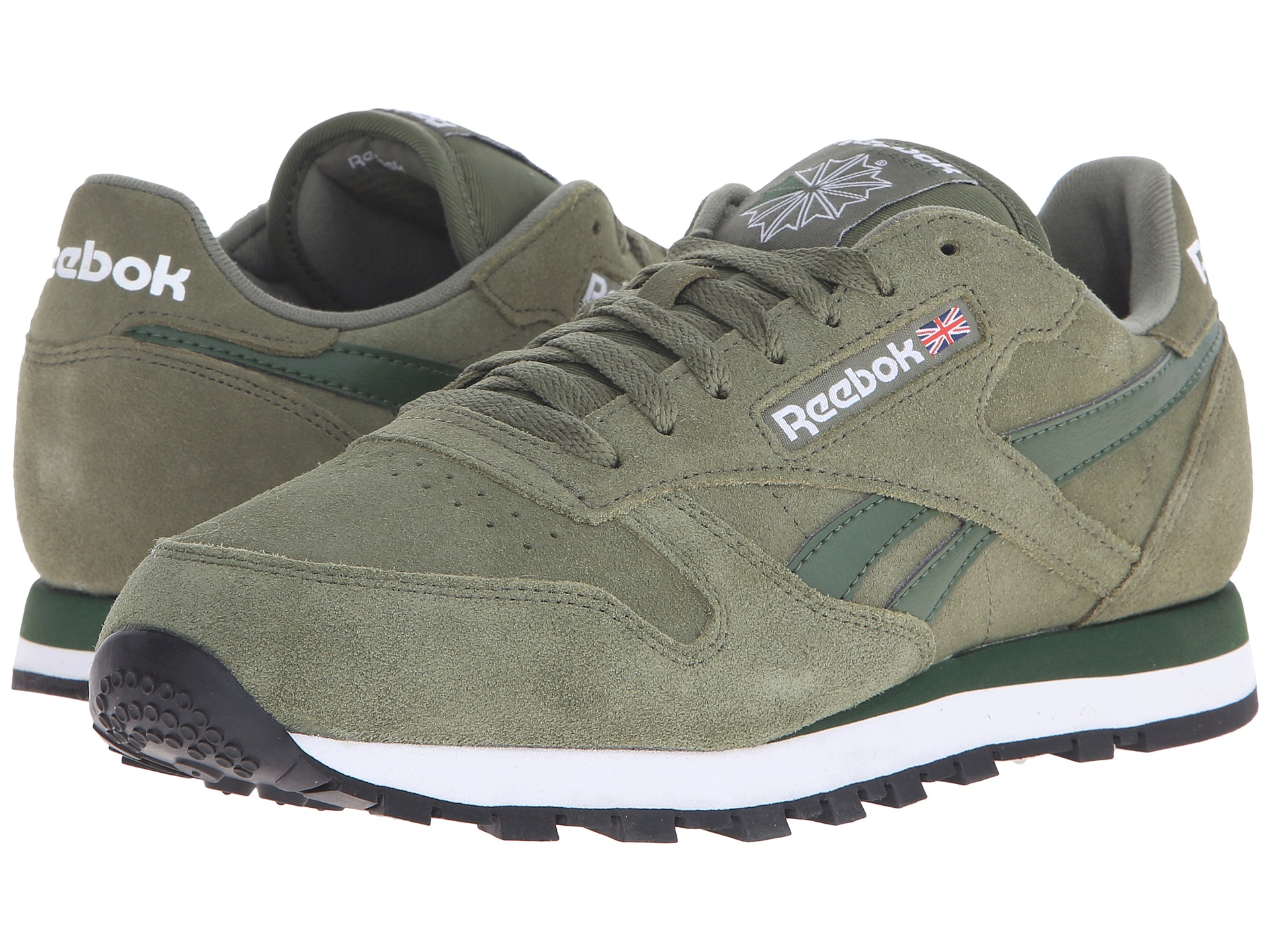 Lyst - Reebok Classic Leather Suede in Gray for Men 4611bfd00