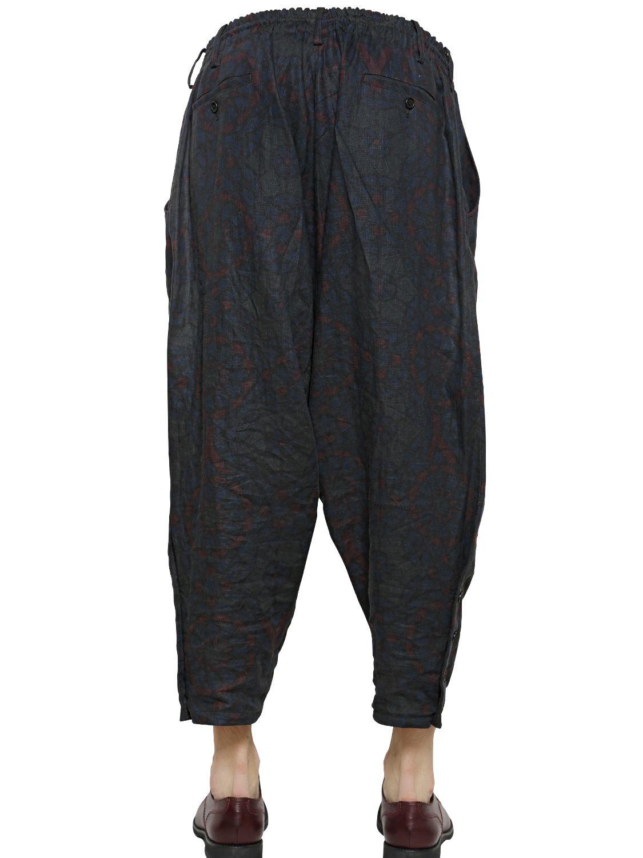 drop-crotch shorts - Blue Yohji Yamamoto Popular 0YVsQMcH