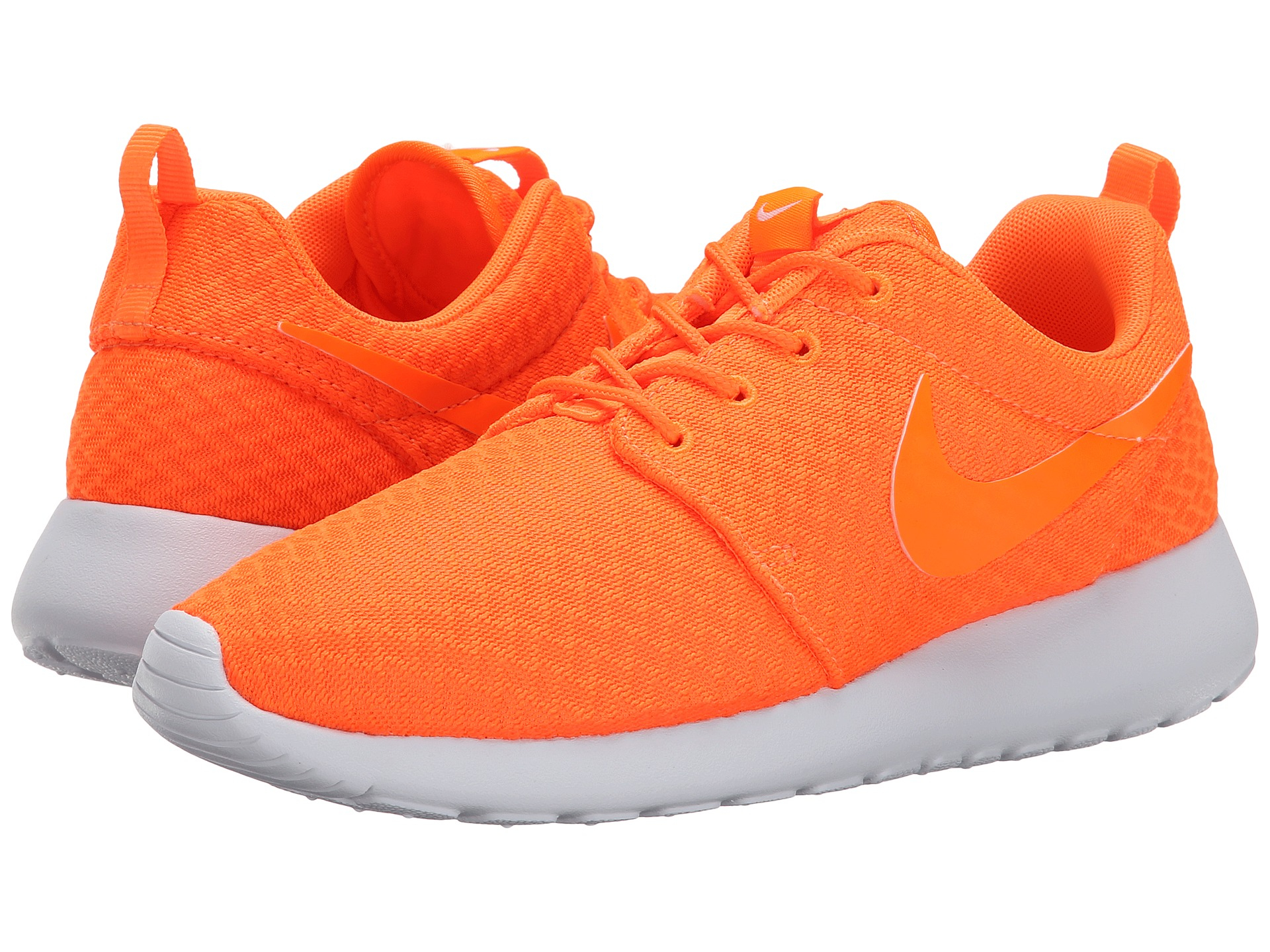 lyst nike roshe run in orange. Black Bedroom Furniture Sets. Home Design Ideas