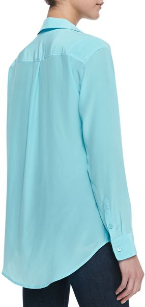 Zara Light Blue Blouse 118