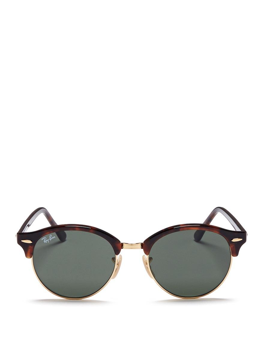 251ad54e12 Ray-ban Round-frame Tortoiseshell Acetate Optical Glasses ...