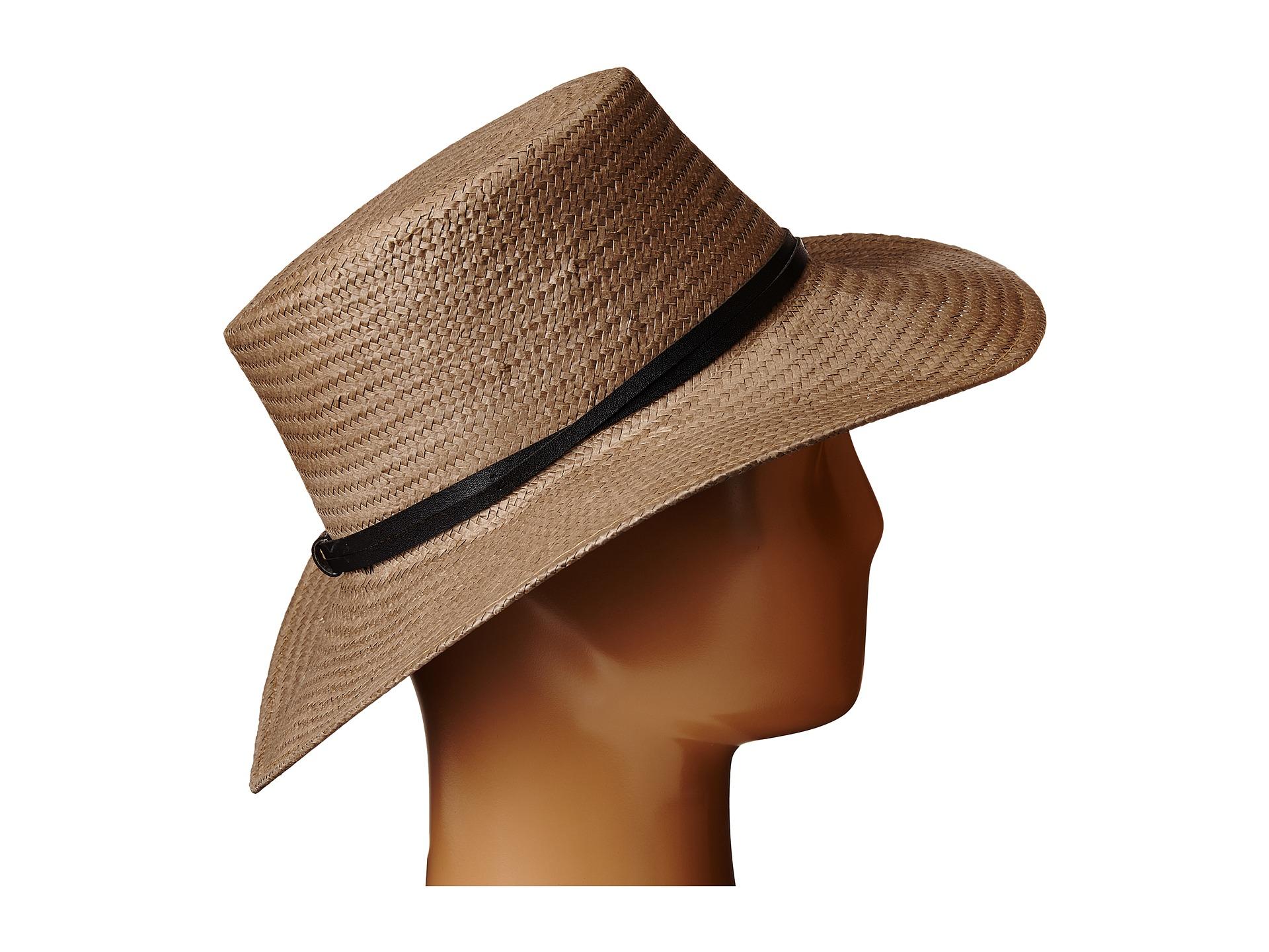 45b556bb9e1 Lyst - BCBGeneration Spring Gaucho Hat in Brown