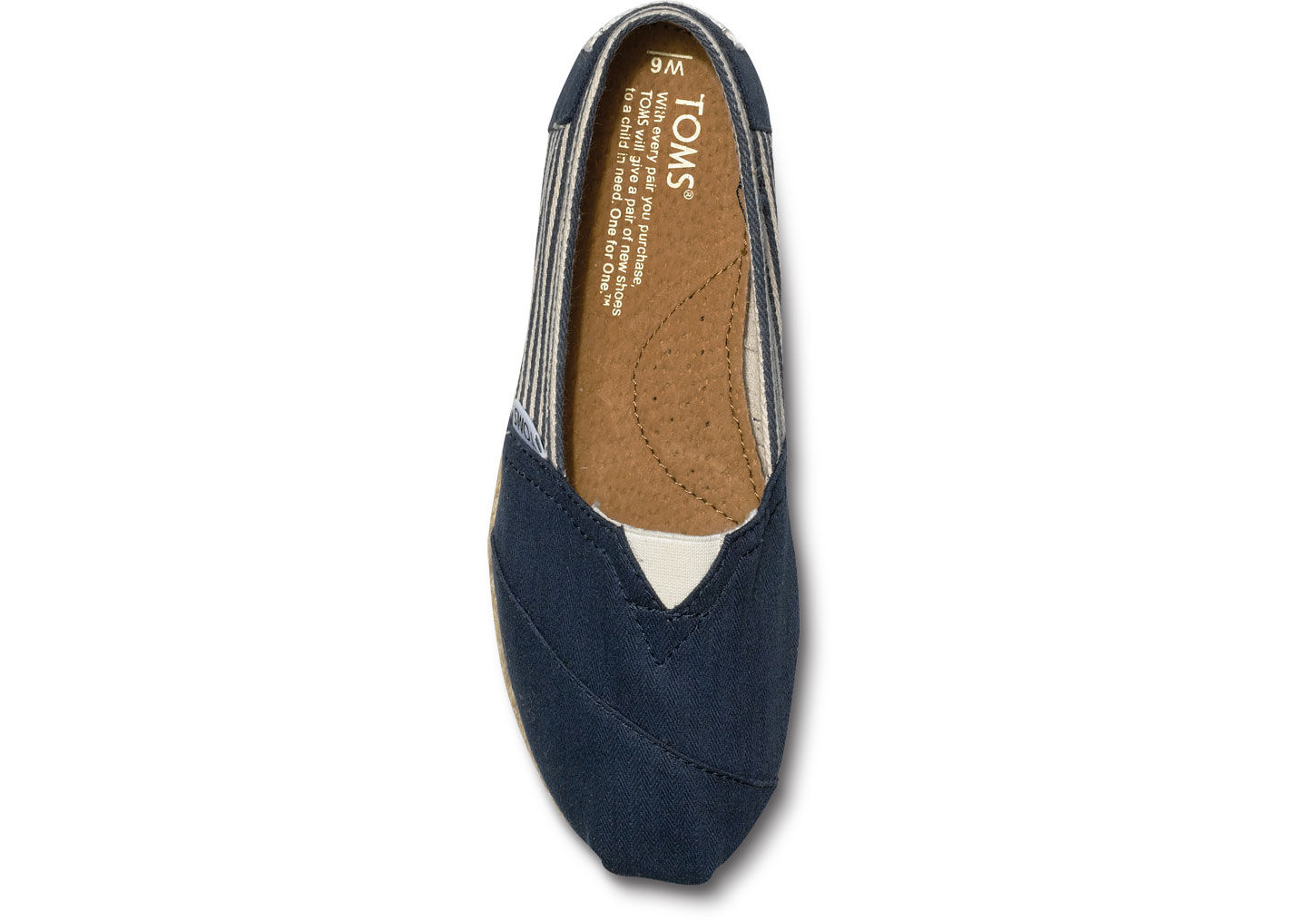 b03f4f594a8 TOMS University Navy Rope Sole Women'S Classics in Blue - Lyst