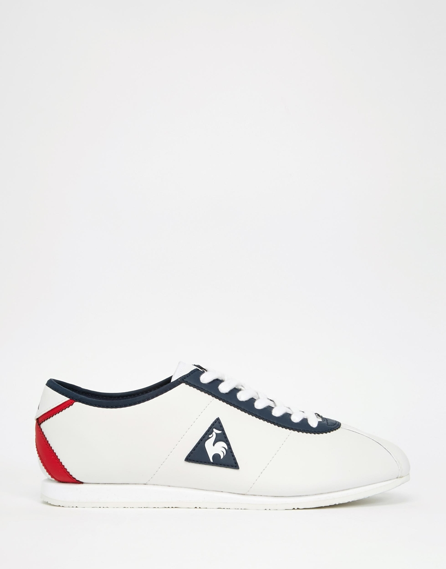 30076ca4f4d5 Lyst - Le Coq Sportif Wendon Leather Trainers in White for Men