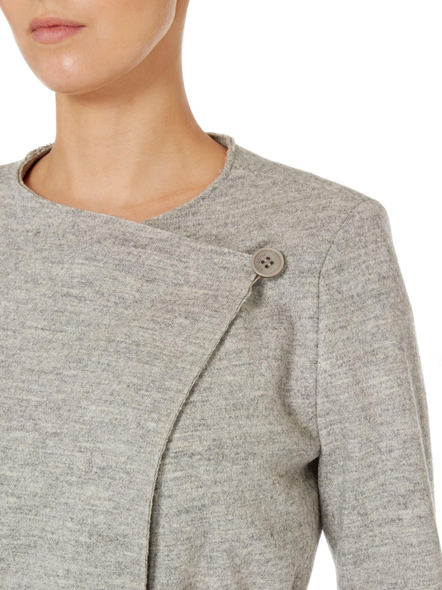 Lightweight Wool Coat | Down Coat