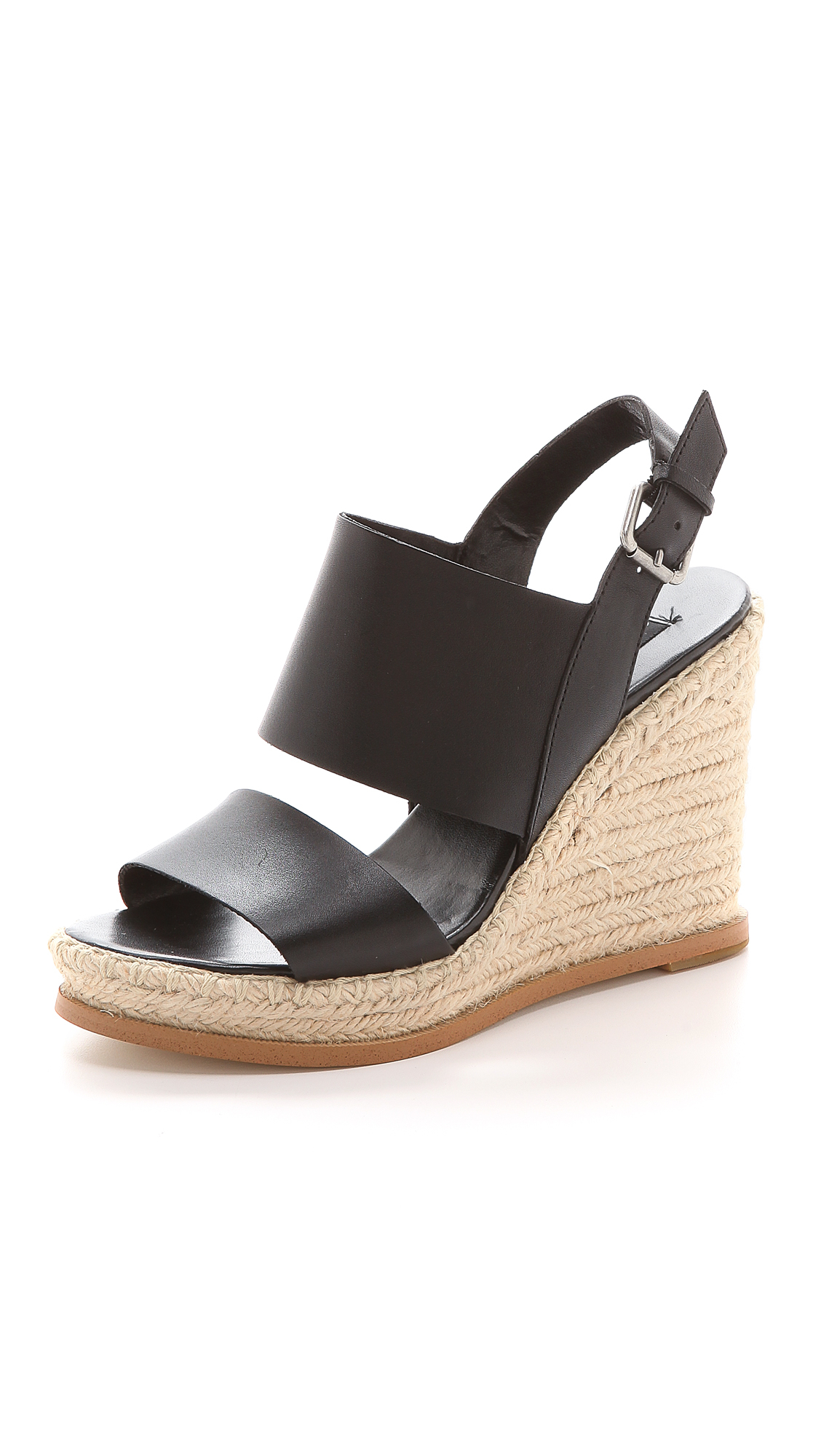 Steven By Steve Madden Stunner Espadrille Wedge Sandals