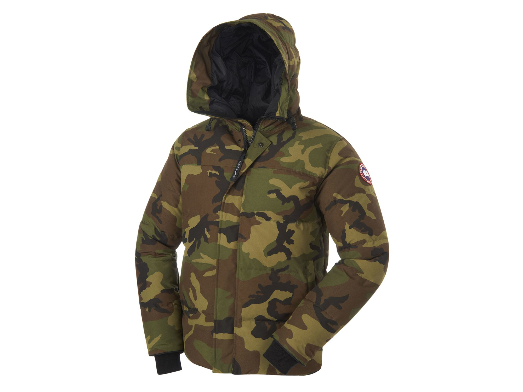 Canada Goose vest online price - Canada goose Macmillan Camouflage-Print Parka Jacket in Green for ...