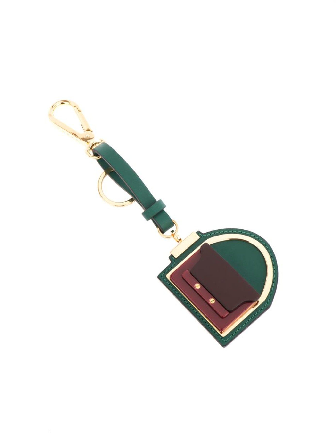 Marni Trunk key ring - Green 5ck2ZScY97