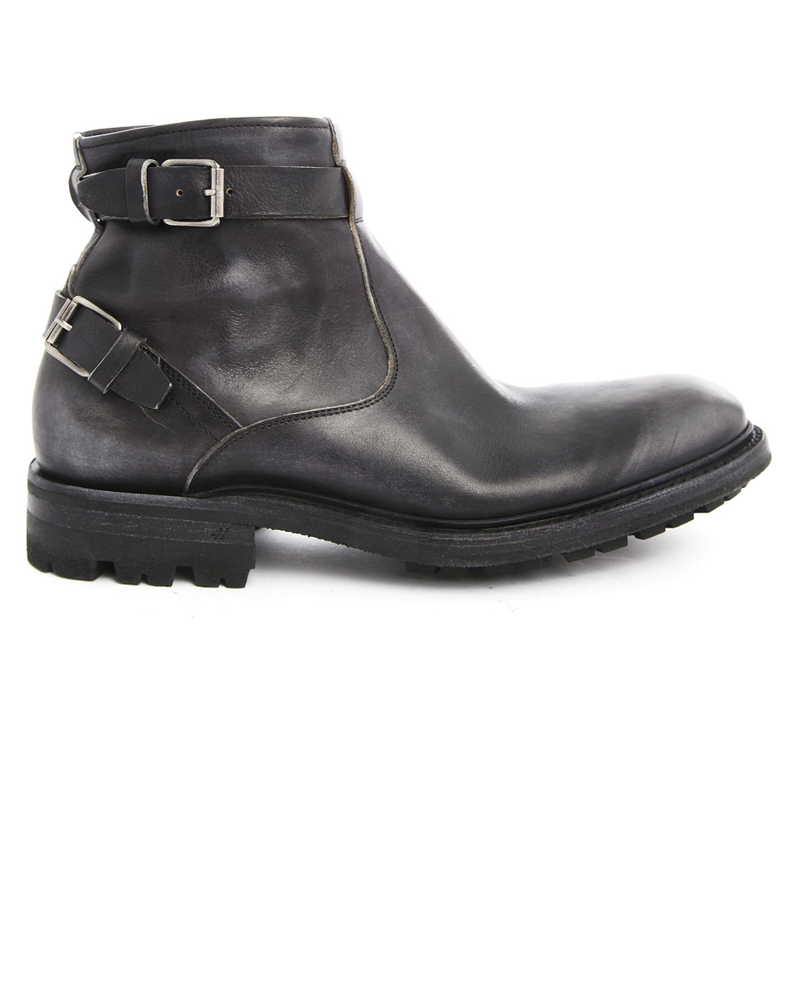 ndc black biker boots dominator in black for lyst