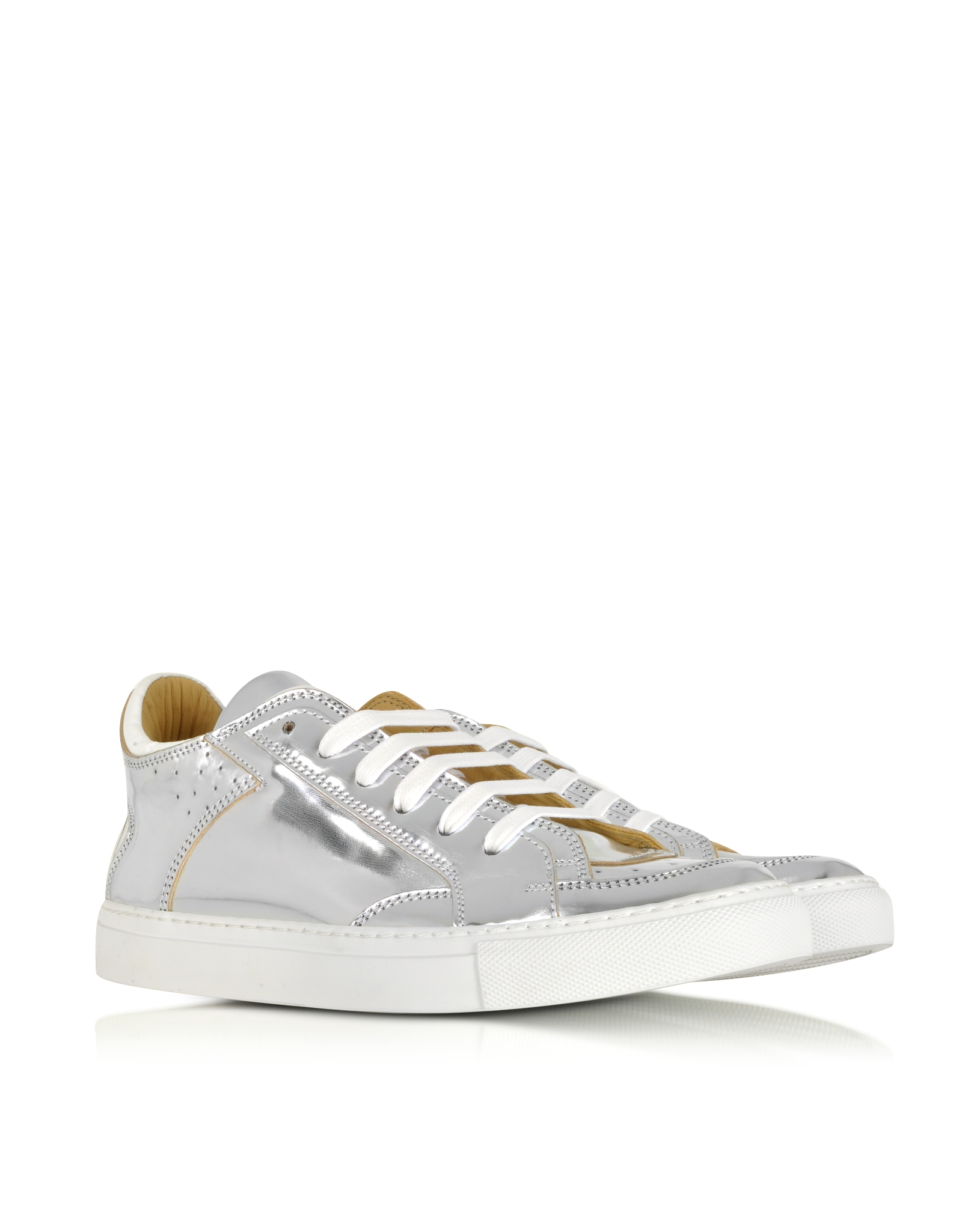 Lyst mm6 by maison martin margiela metallic silver for Mm6 maison margiela