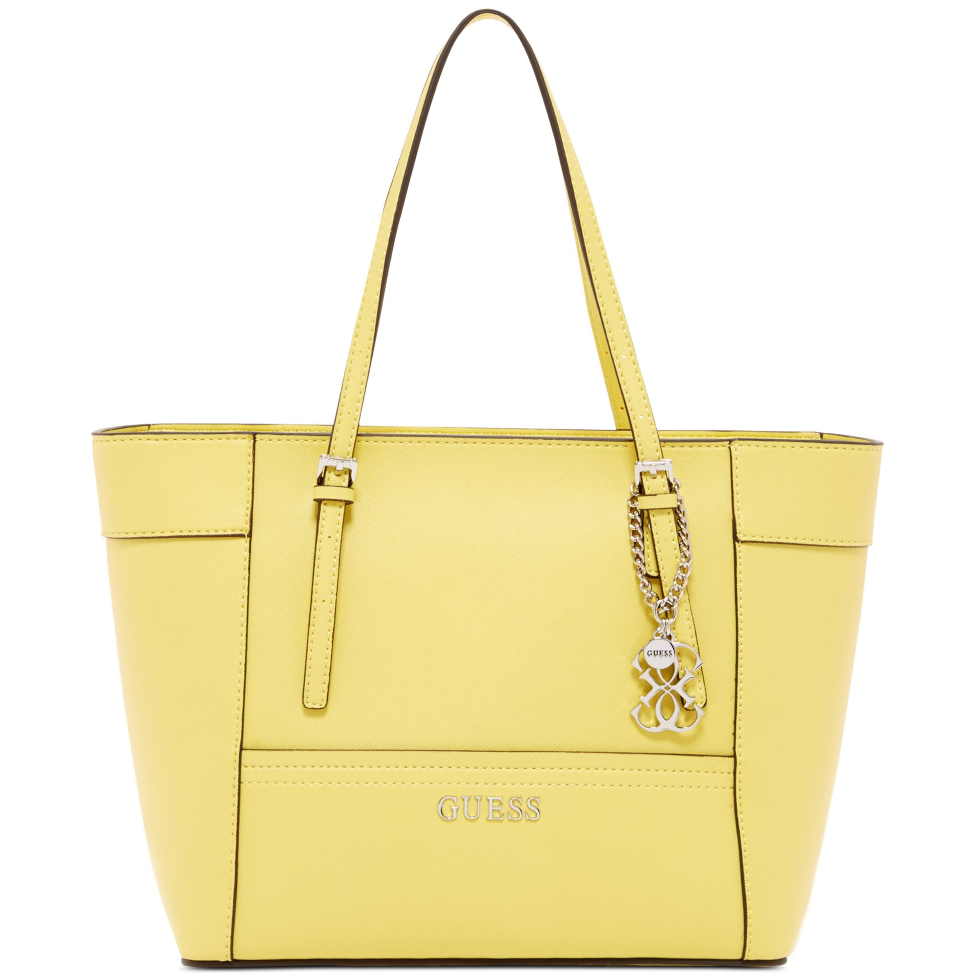 Guess Yellow Handbag