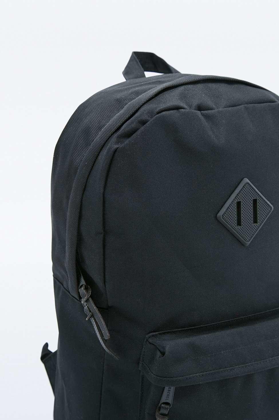 ba6c907b9af Herschel Supply Co. Aspect Heritage Black Backpack in Blue for Men ...