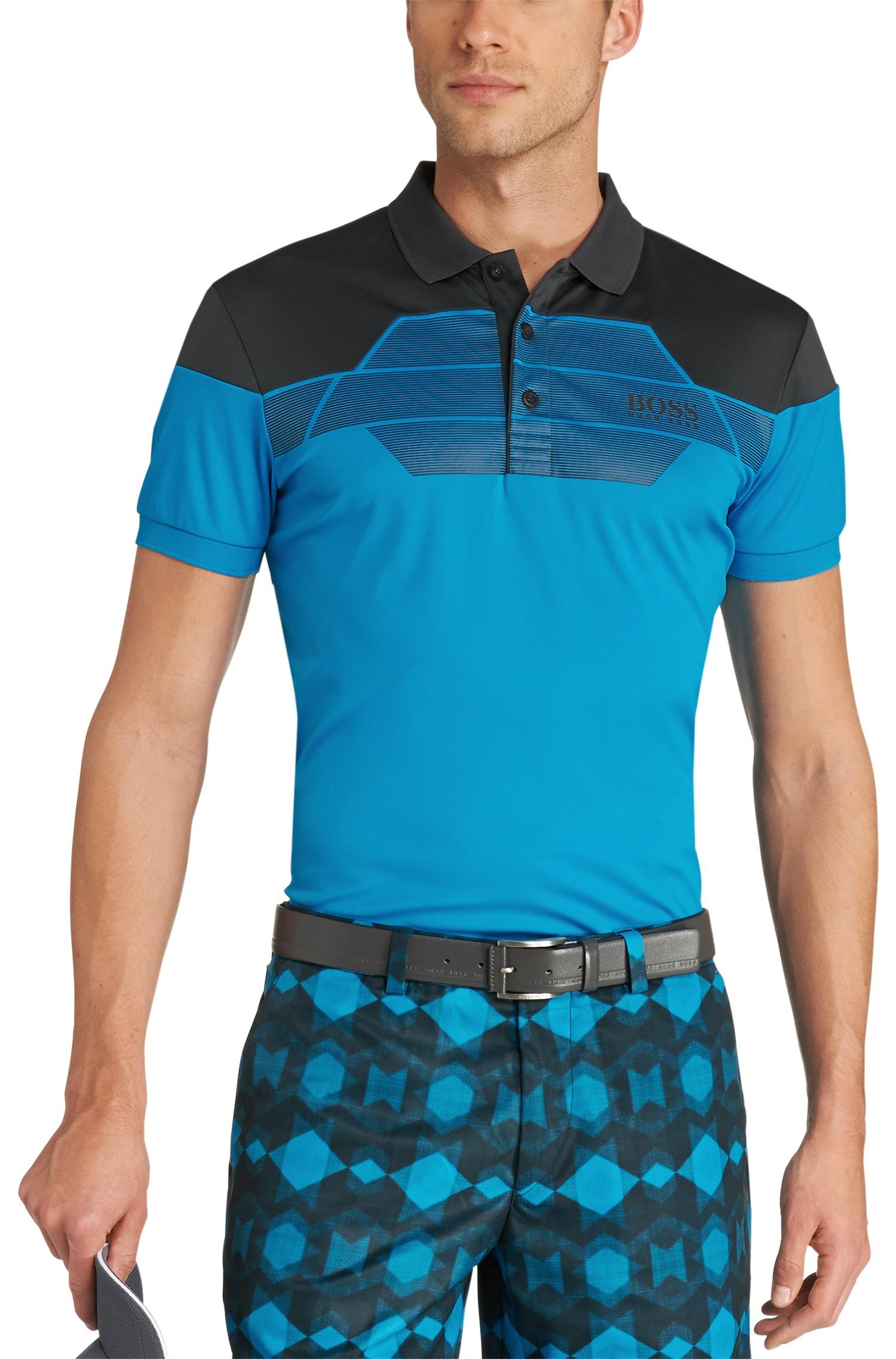 Lyst boss green modern fit golf polo 39 paddy pro 3 for Modern fit golf shirt