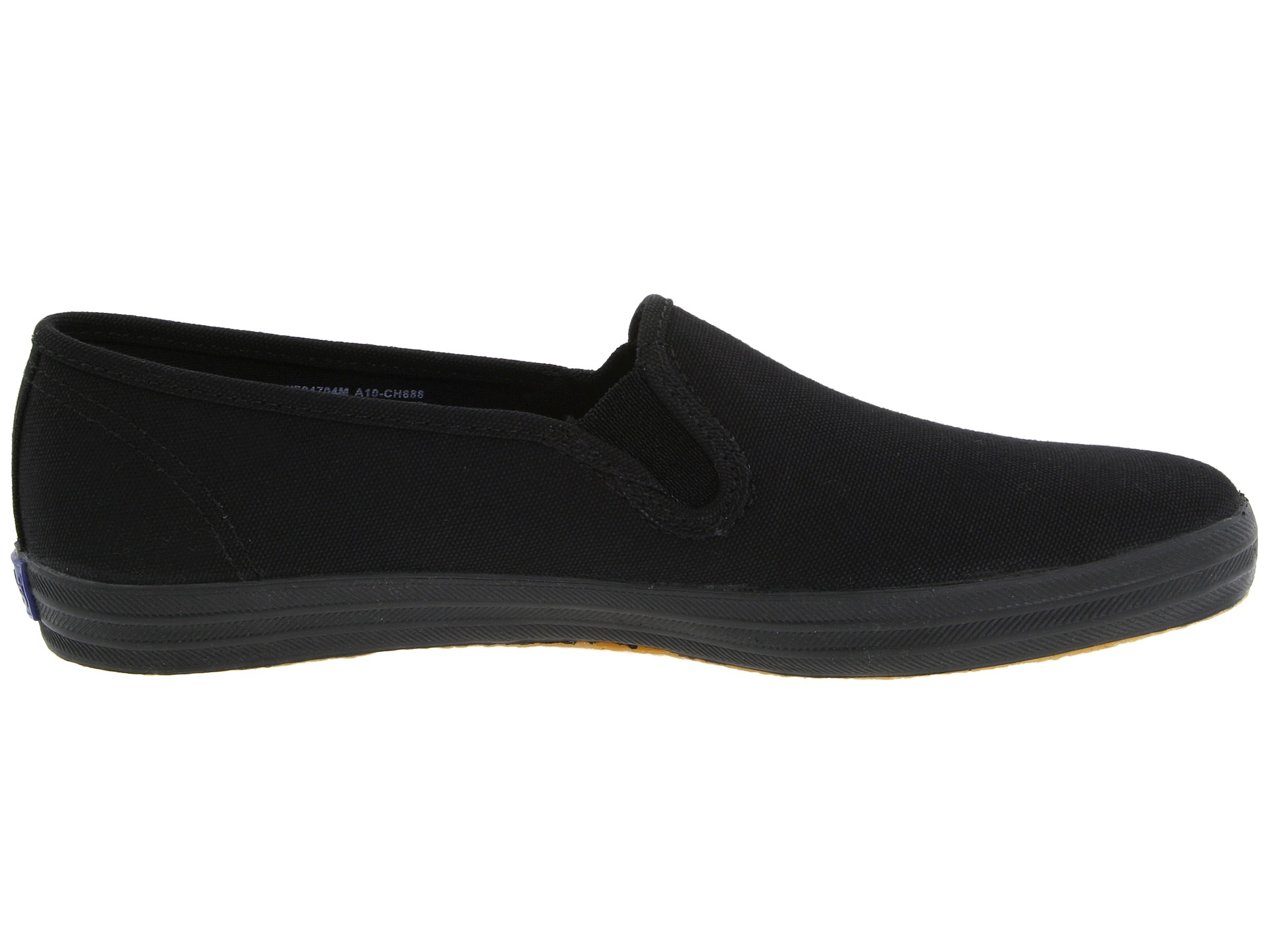 keds champion slip on black