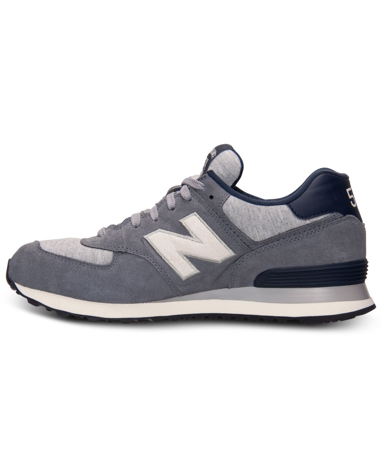 mens new balance 574 pennant casual shoes