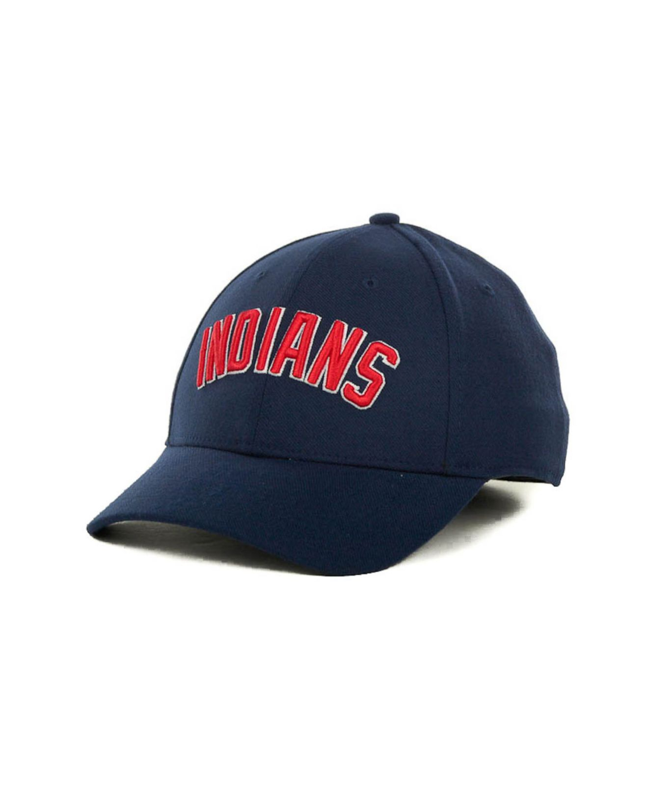 finest selection 93a72 a8af3 ... get lyst nike cleveland indians dri fit swoosh flex cap in blue for men  ababa 3b50a