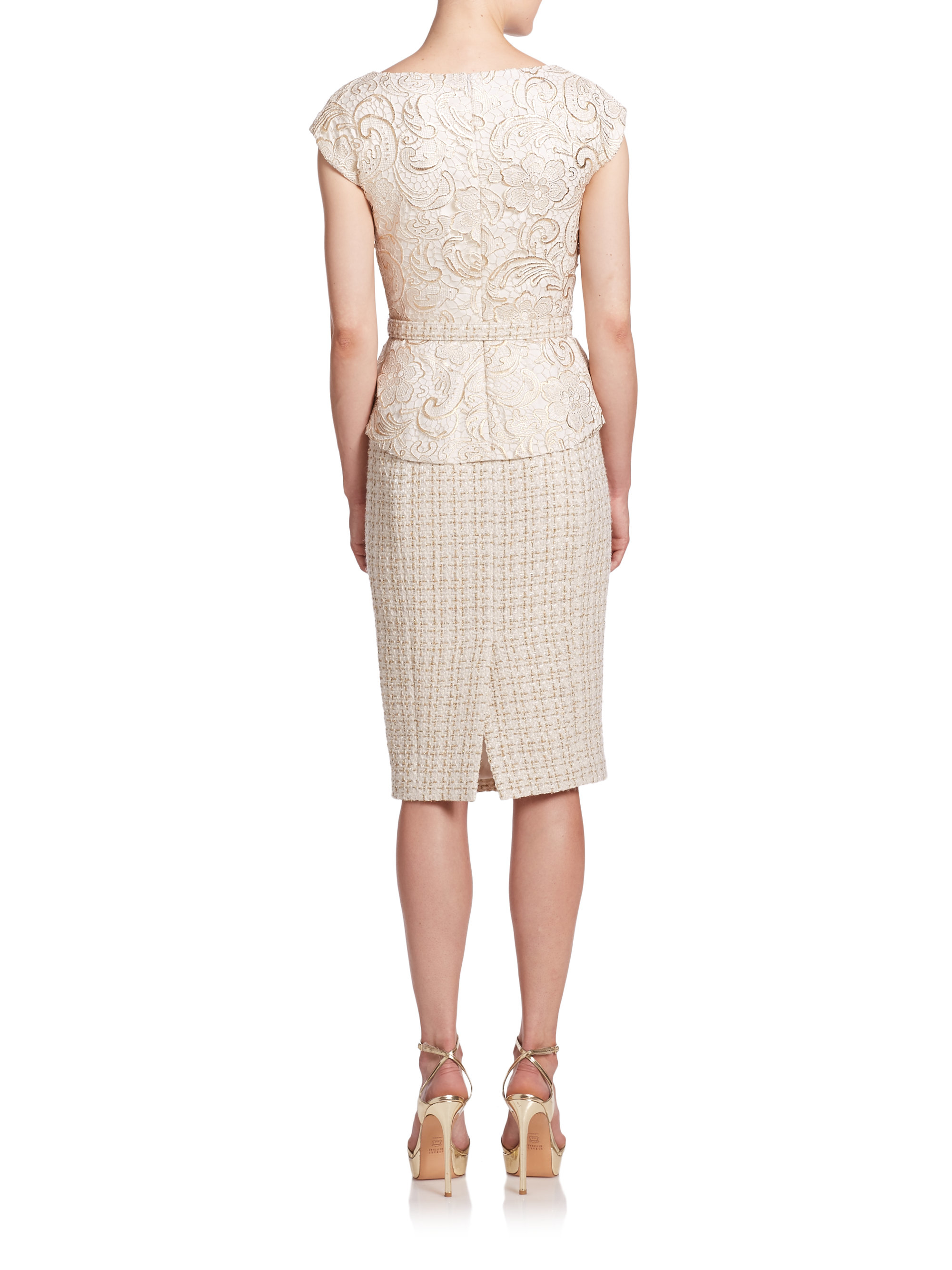 639f72285d19 Gallery. Previously sold at: Saks Fifth Avenue · Women's White Cocktail  Dresses
