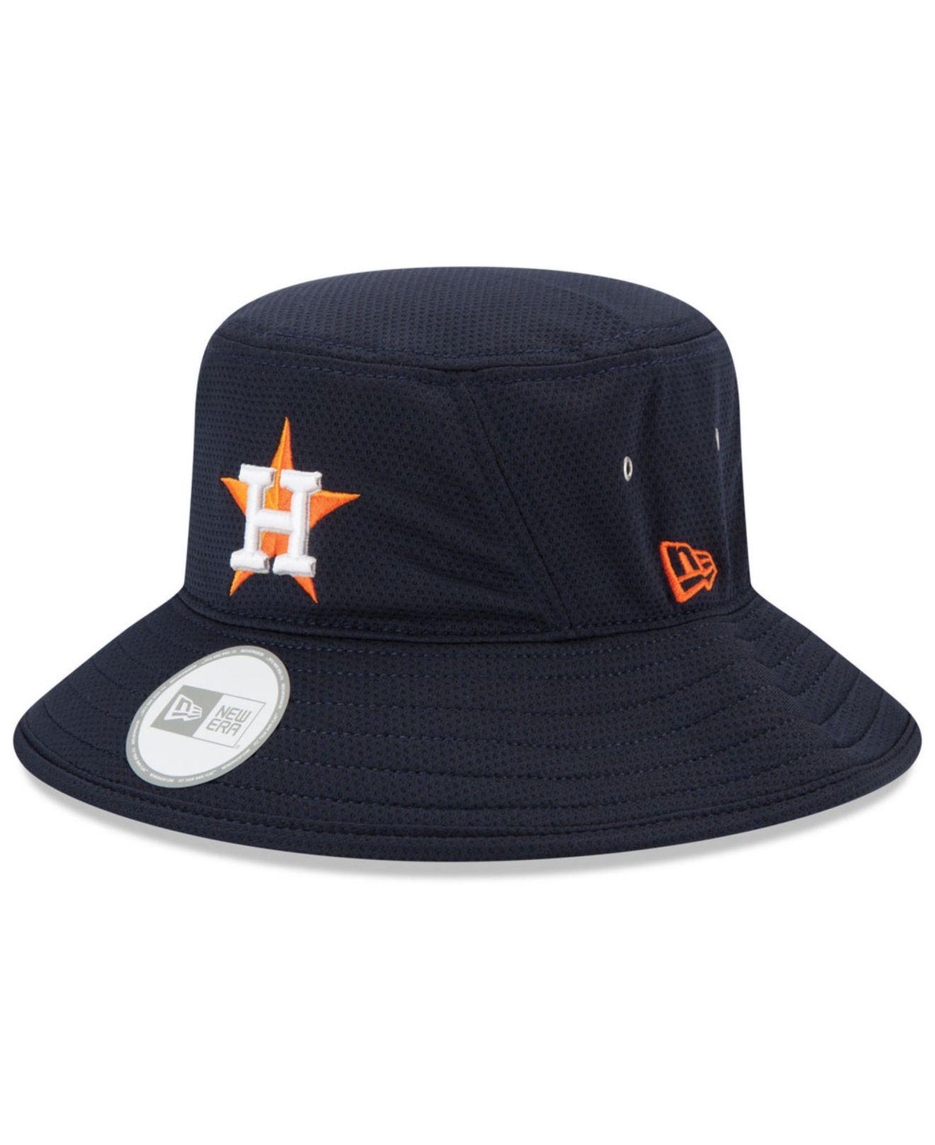 Ktz Houston Astros Redux Bucket Hat in Blue (Navy) | Lyst