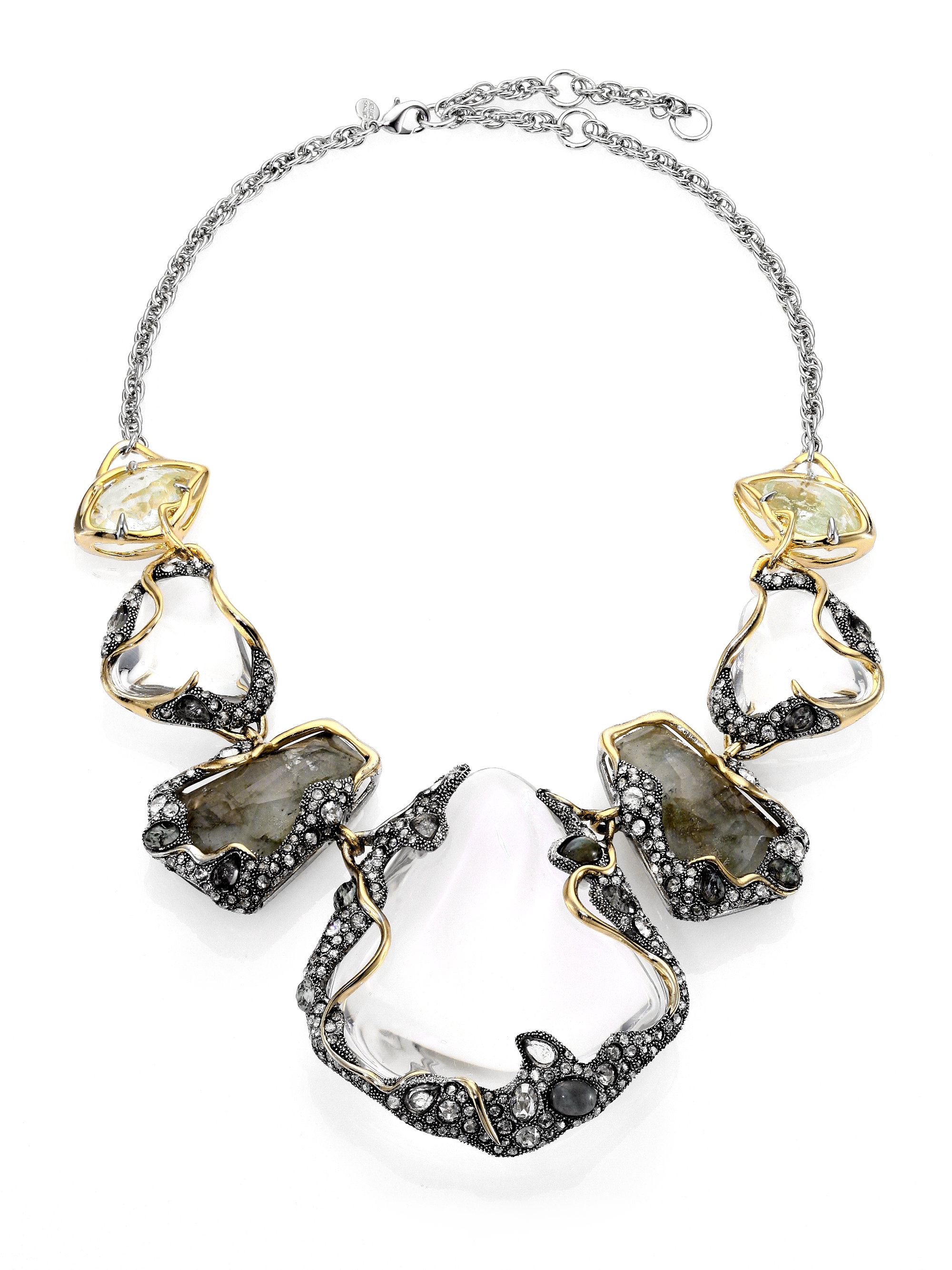 current alexis zm necklace bittar boutique product link black