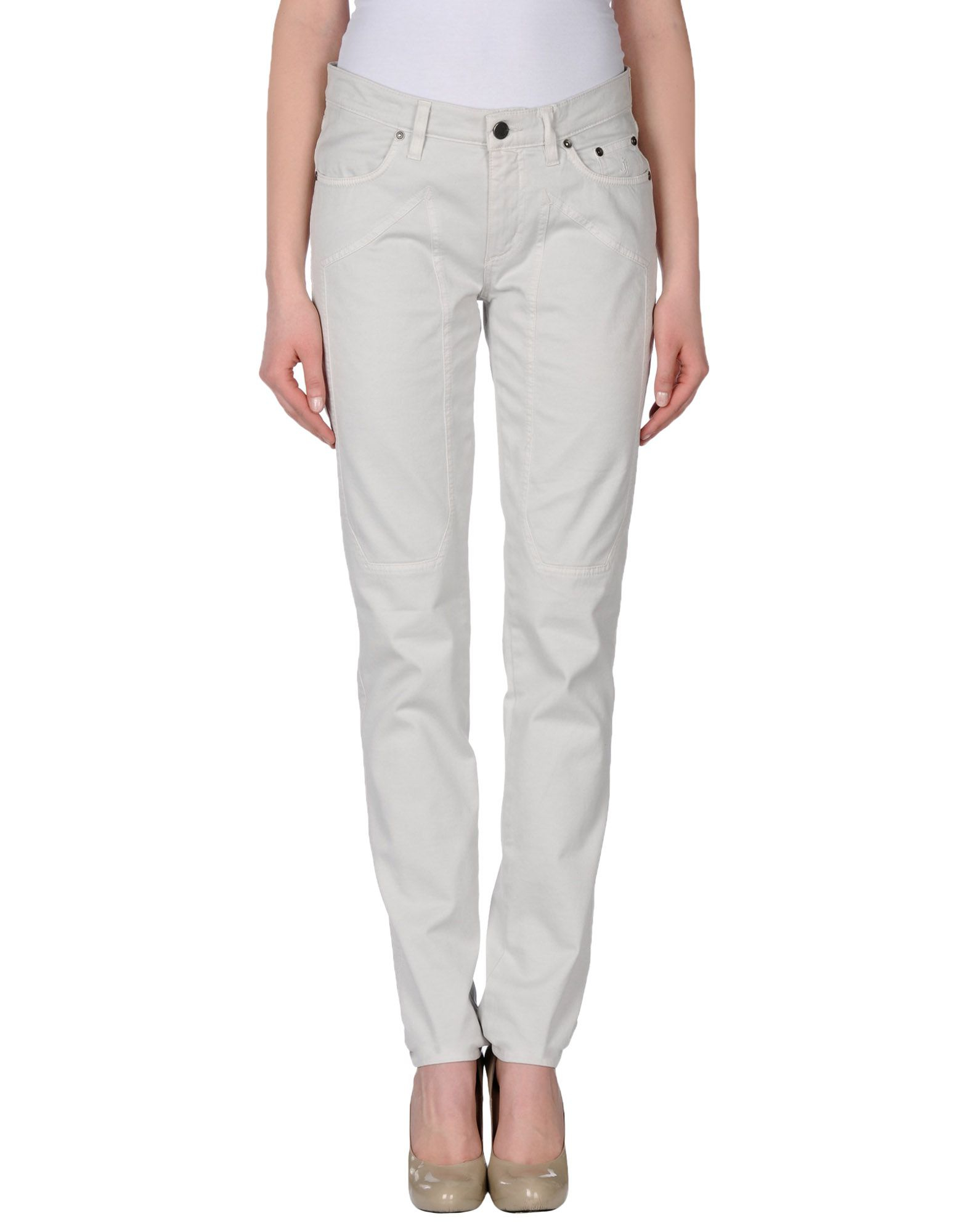 Simple Roy Rogers Casual Trouser In Gray Light Grey  Lyst