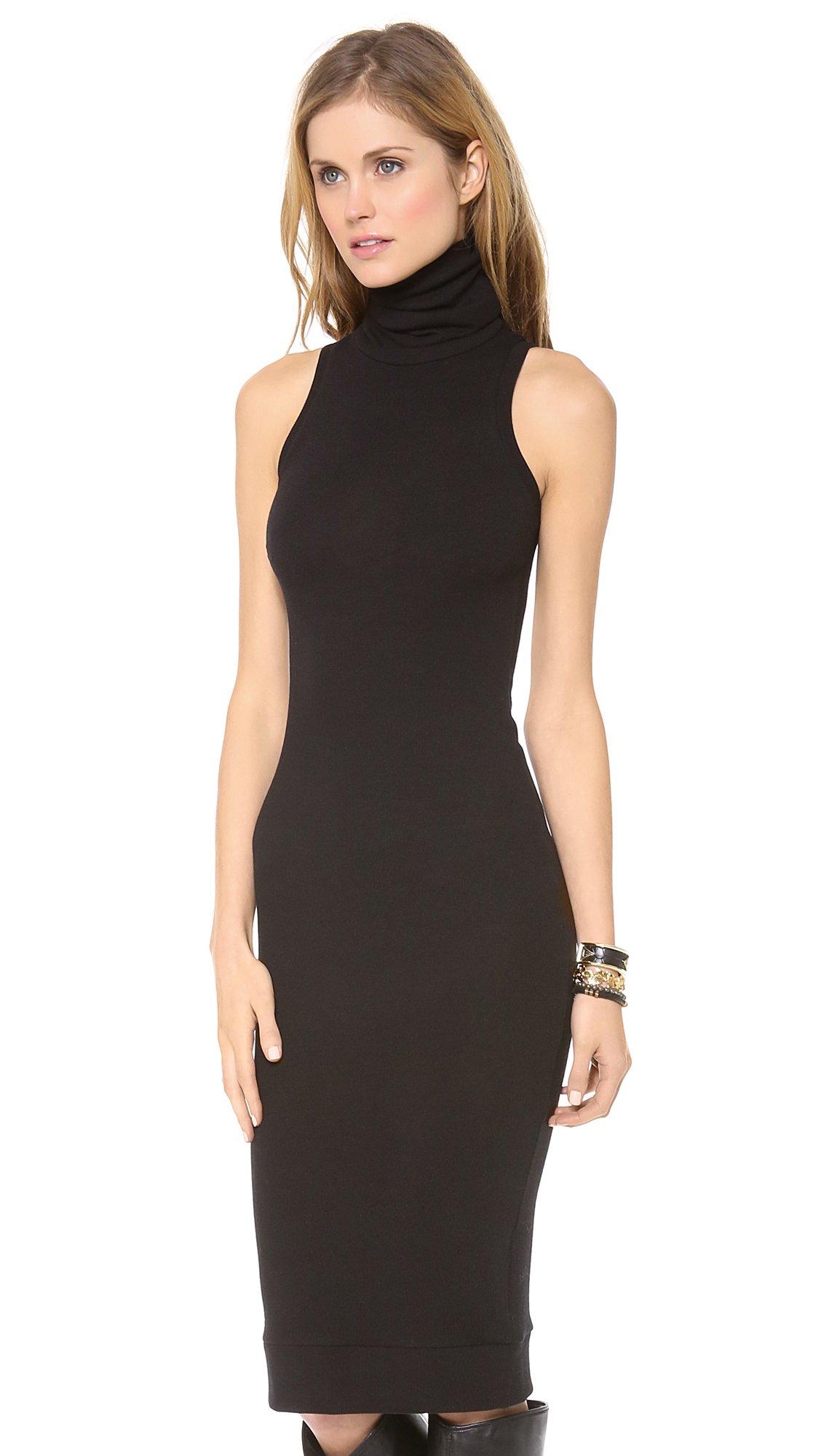 Lyst Rachel Pally Sleeveless Turtleneck Dress Black In