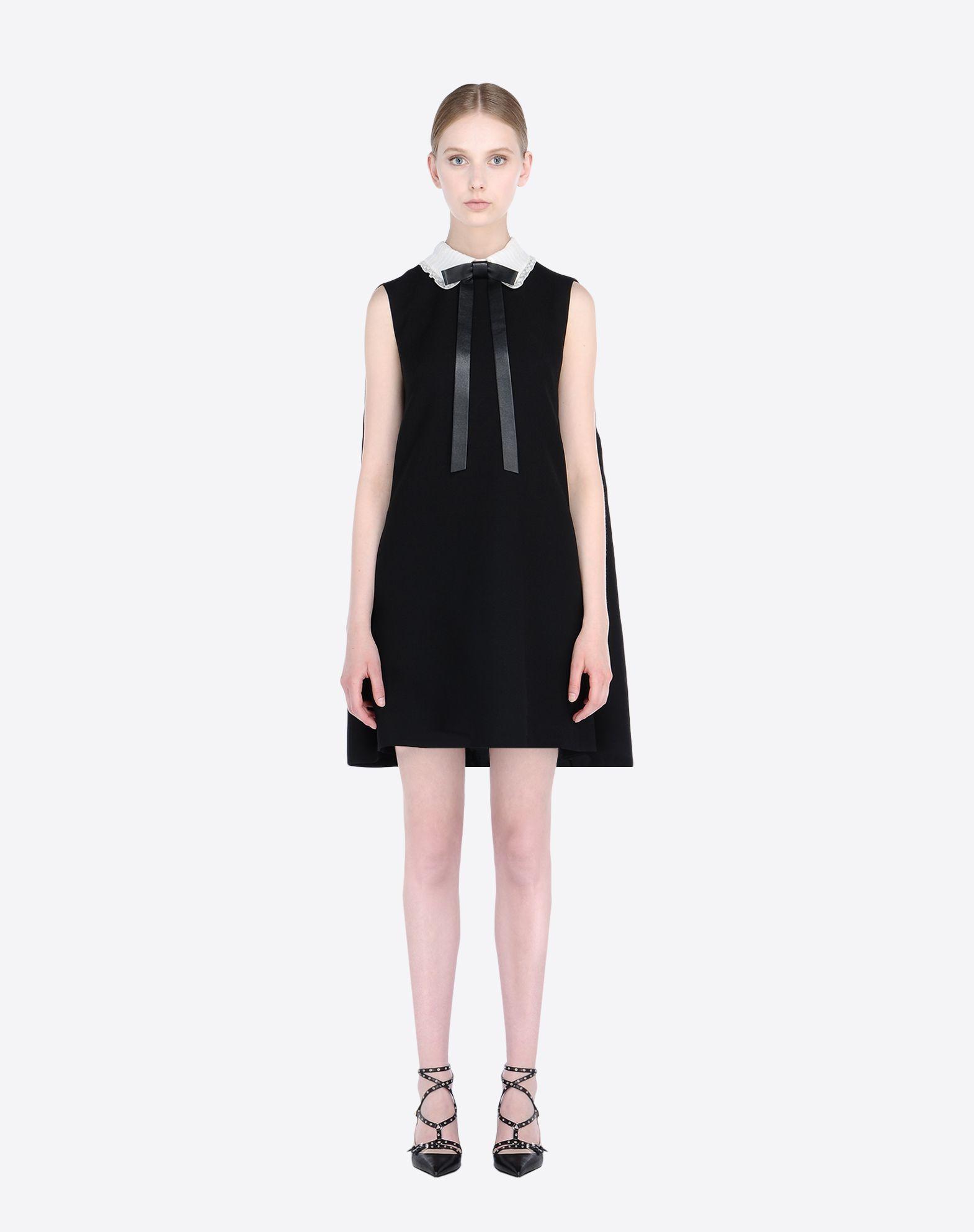 913a43f4d3 Valentino White Cape Dress