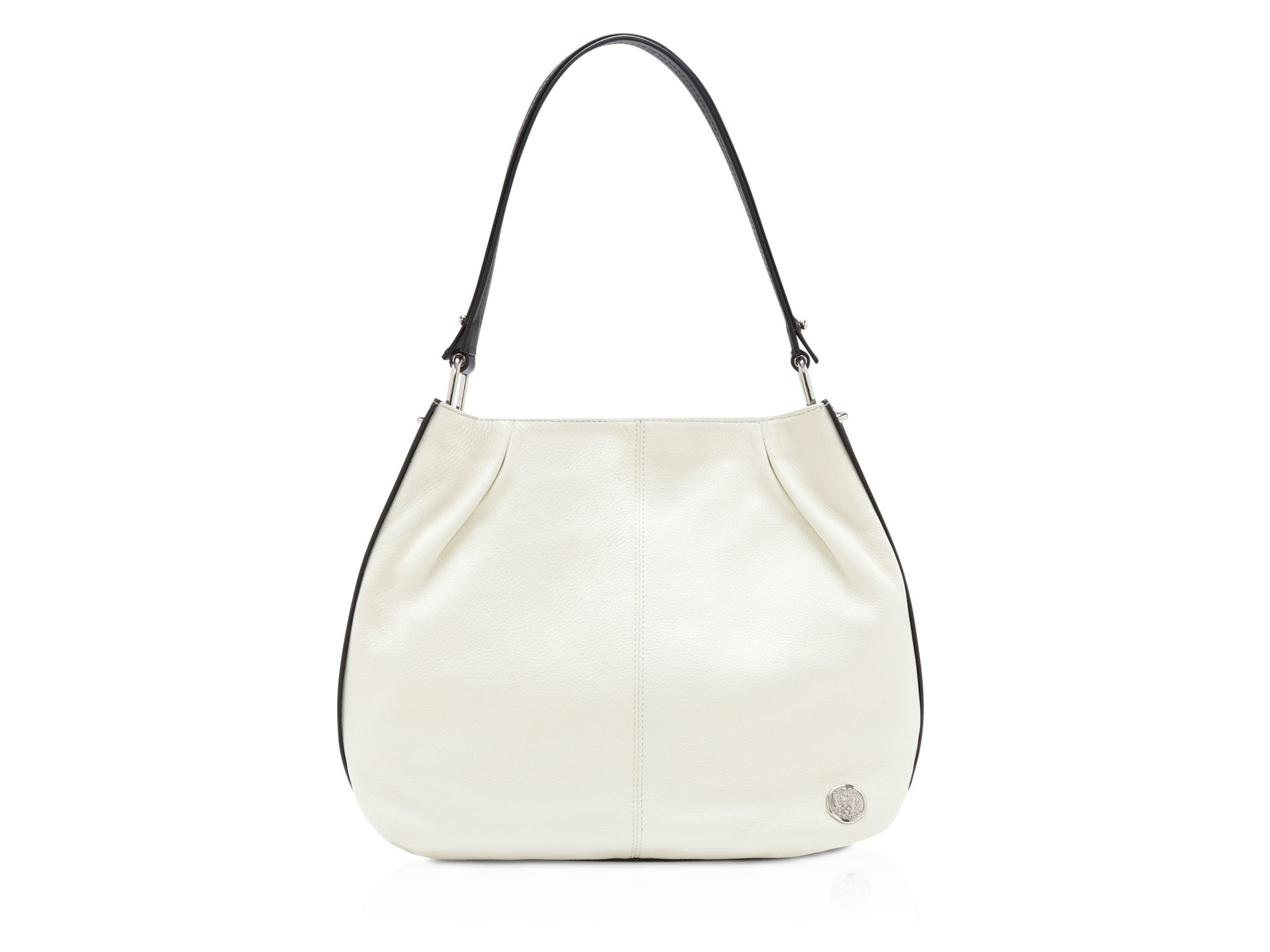 eaf2c936c830 Vince camuto Pia Color Block Hobo in White (Snow White .