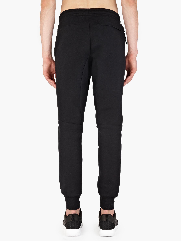 Nike Black Tech Fleece Sweatpants In Black For Men Lyst