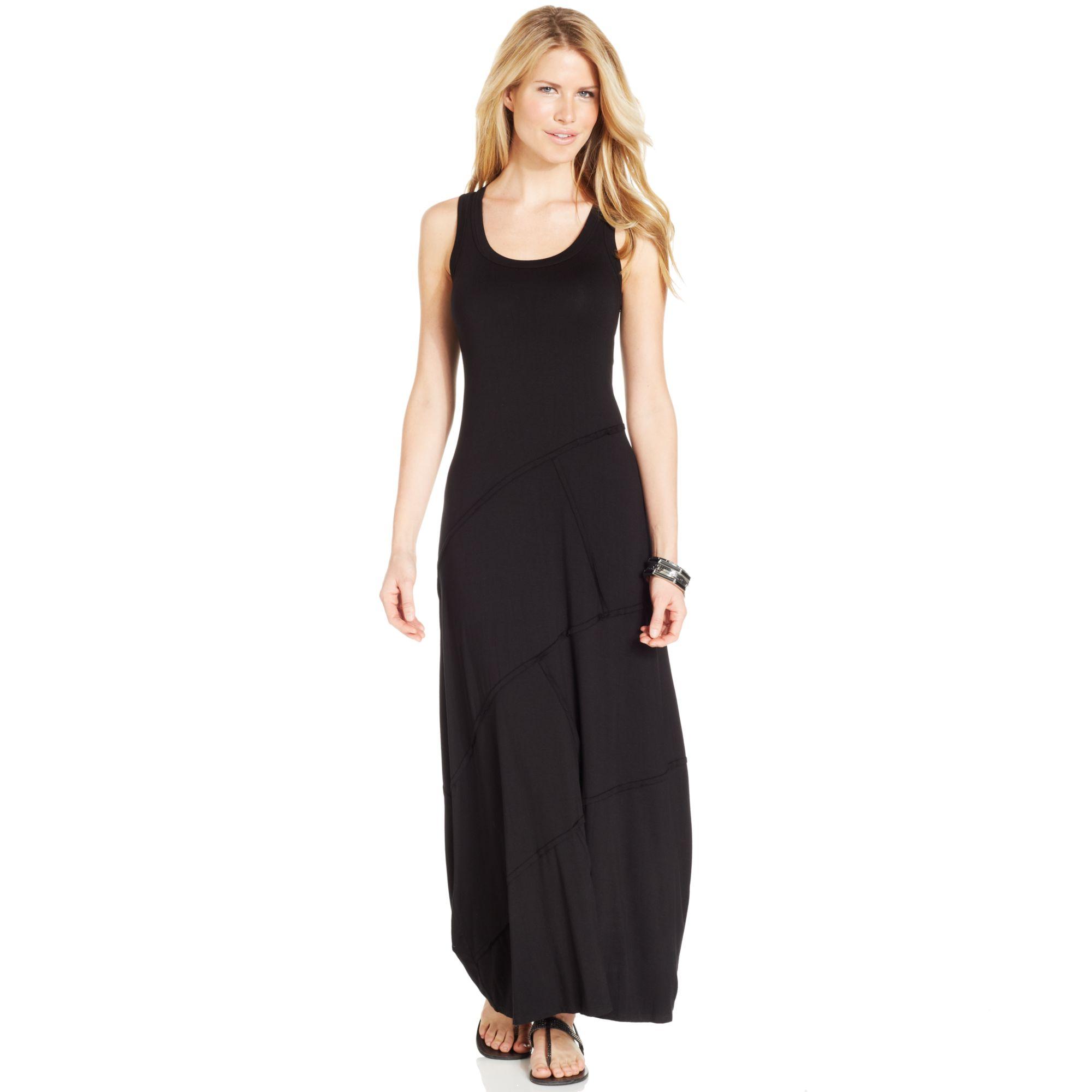 Black maxi dress karen kane