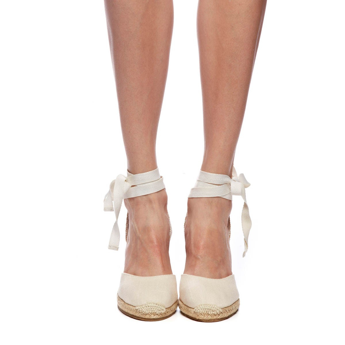 Soludos Tall Wedge In Natural Lyst