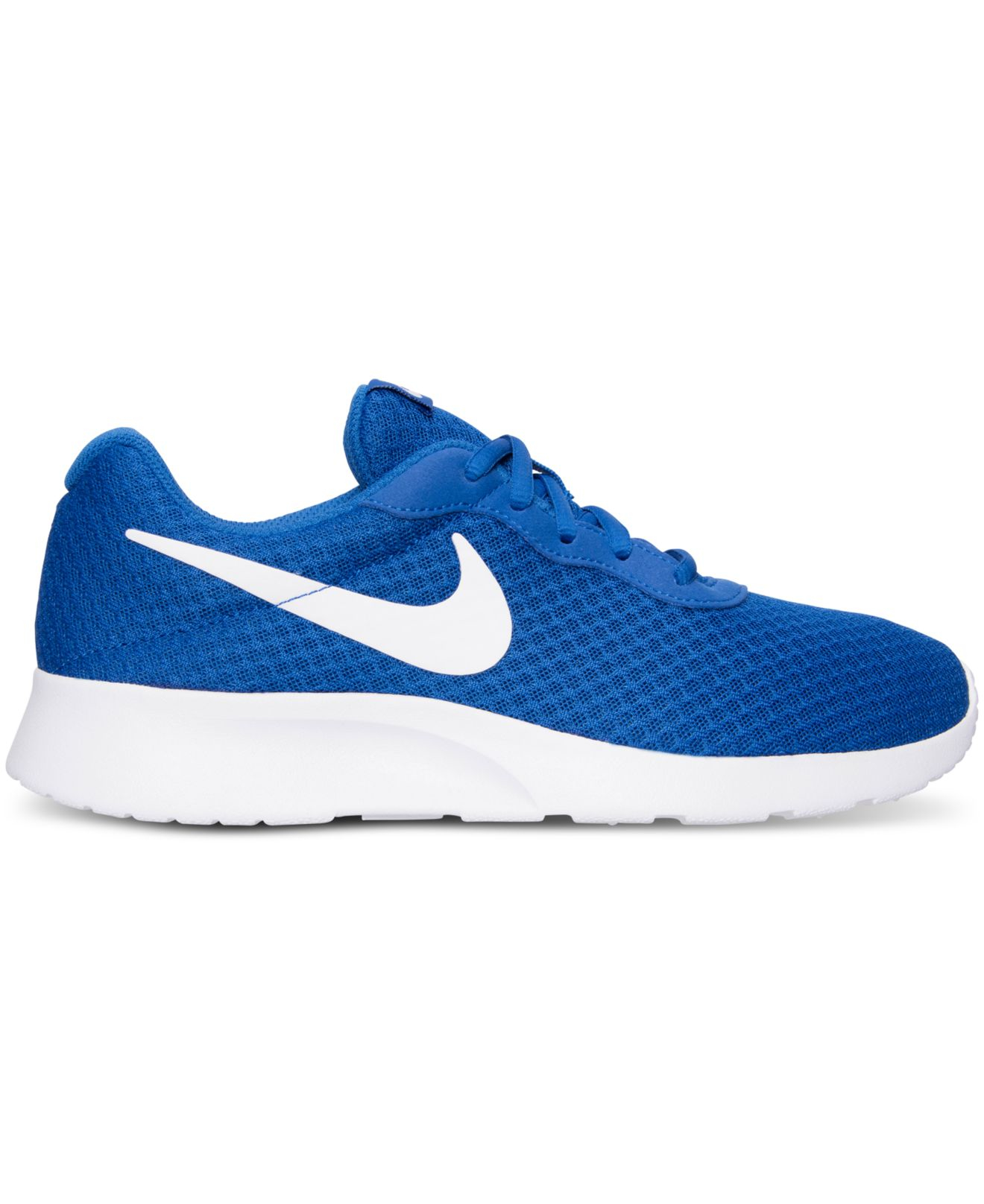 nike tanjun blue hair 3917116bb6d2