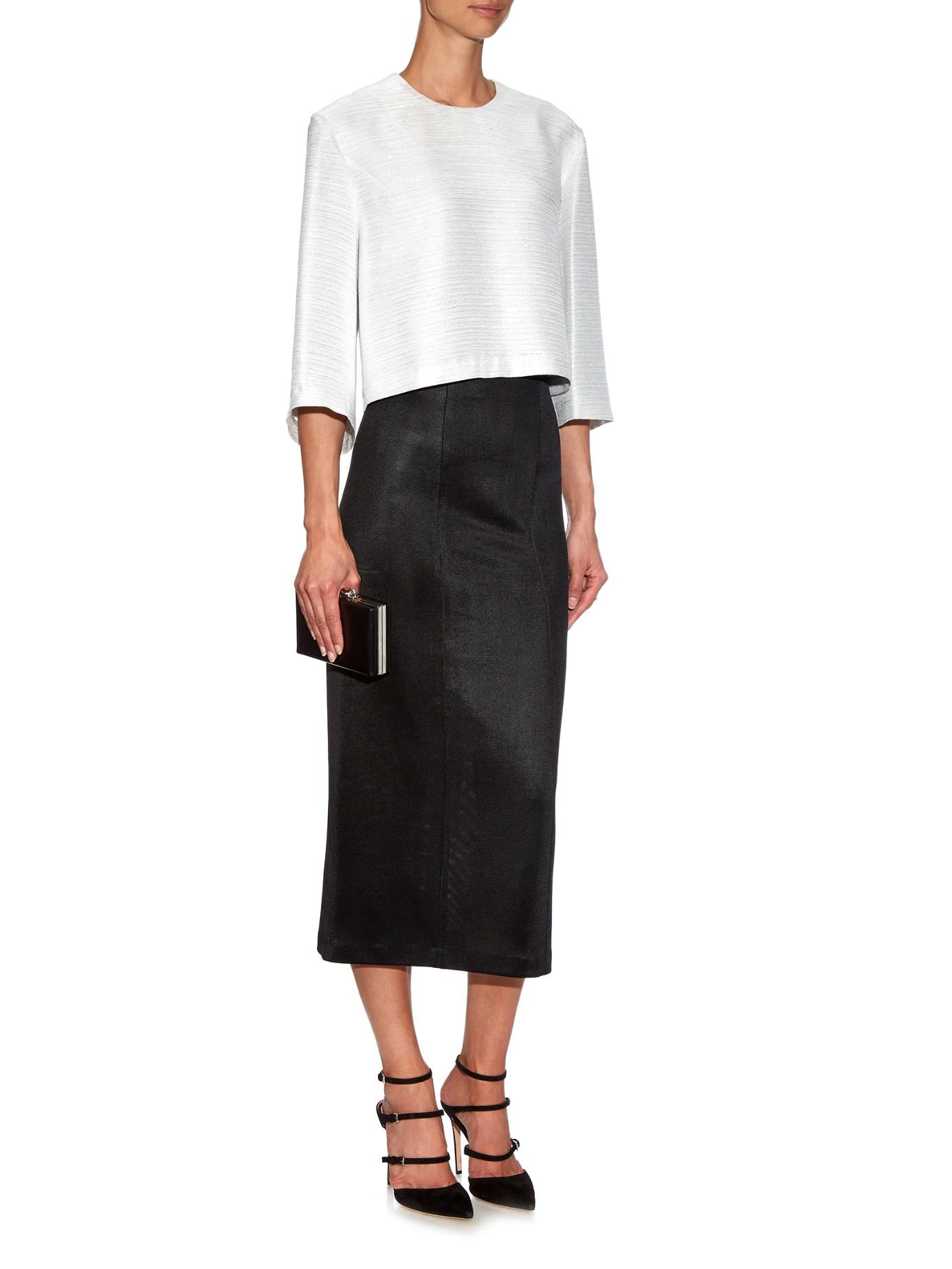 High Waisted Knit Skirt | Jill Dress