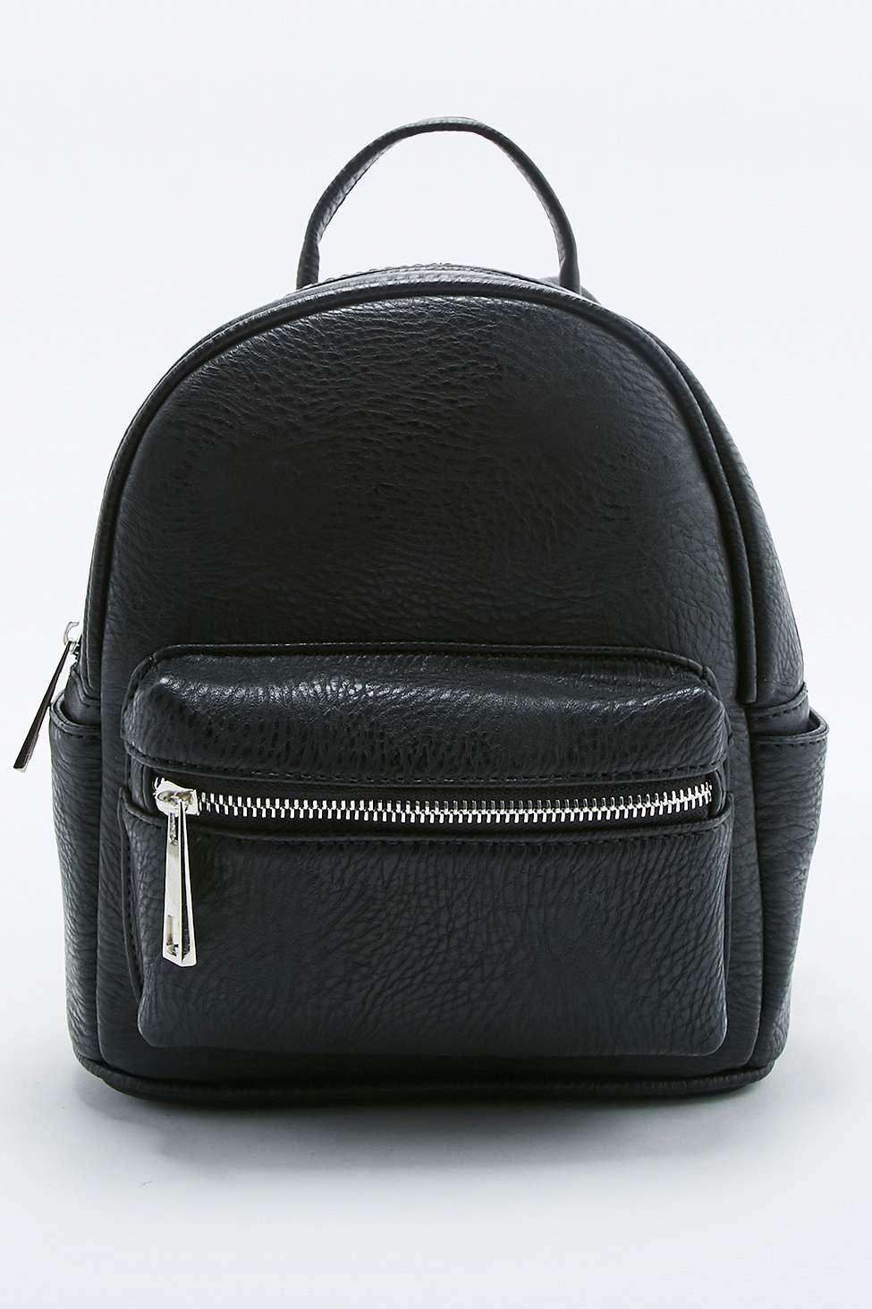 4e96b3e8e02 Mini Leather Backpack Urban Outfitters - CEAGESP
