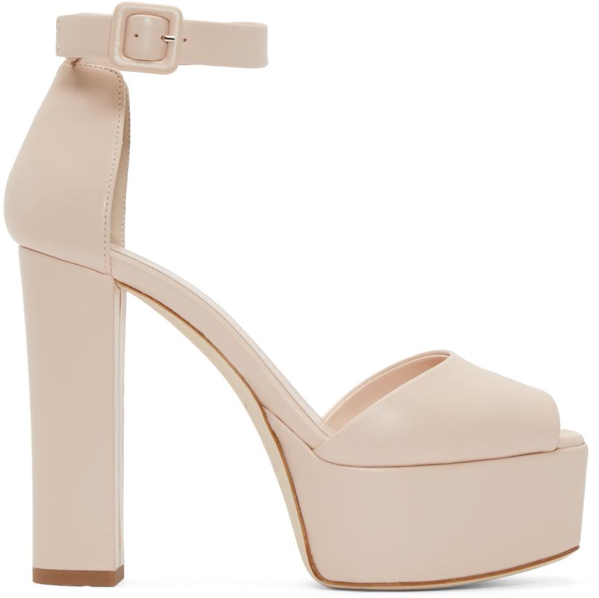5e96bad16d6f Lyst - Giuseppe Zanotti Pink Lavinia Platform Sandals in Pink