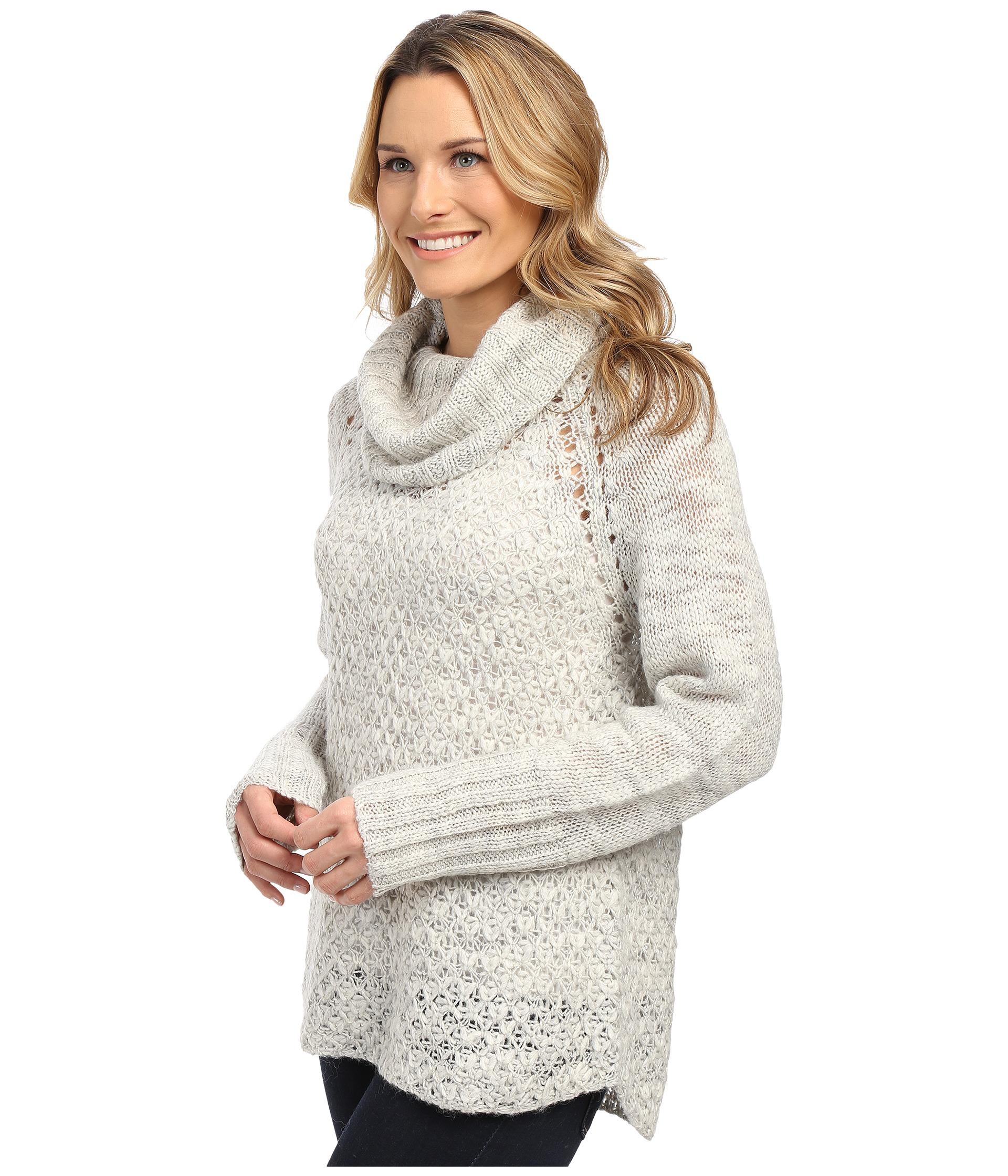 Sanctuary Cozy Tunic Sweater in Metallic   Lyst