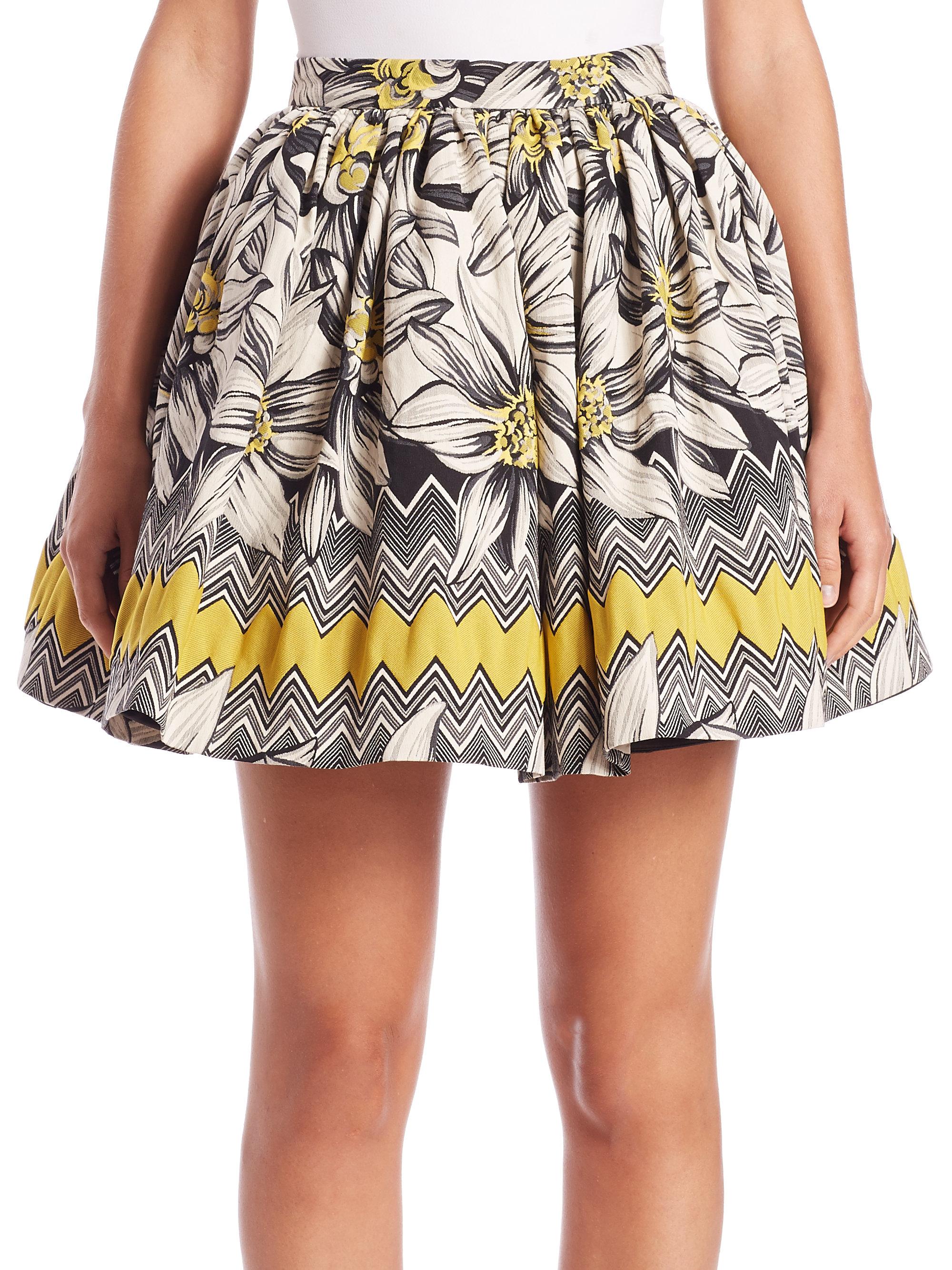 ea6b0246232cf7 Alice + Olivia Tania Full Pouf Skirt in Black - Lyst
