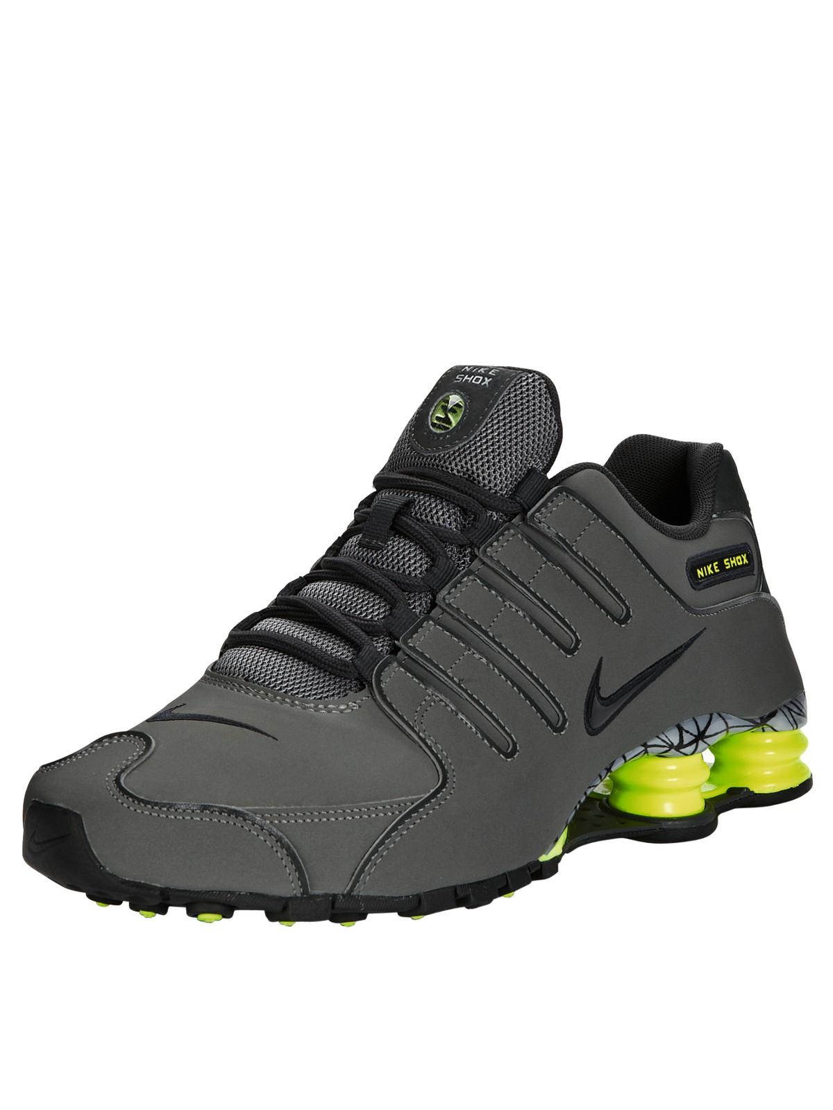 Nike Shox Nz Grey Orange