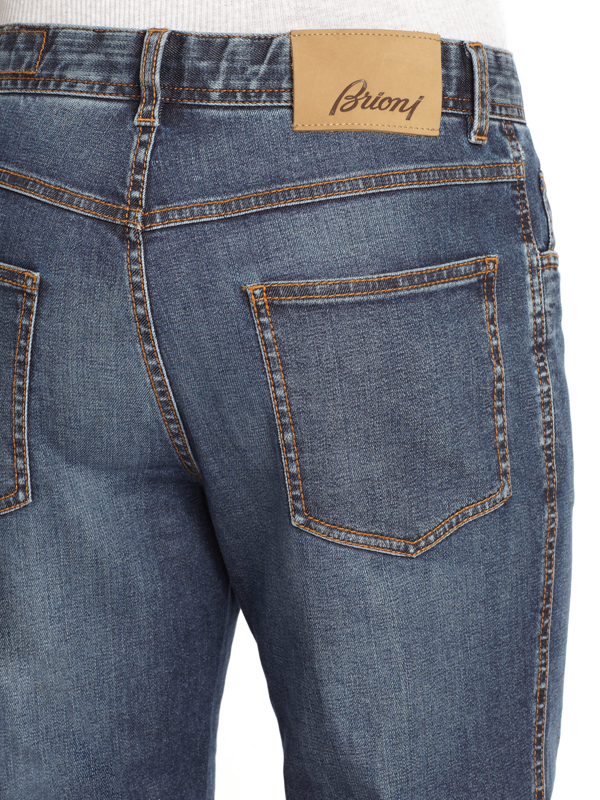 Brioni Avanti Denim Jeans in Blue for Men | Lyst