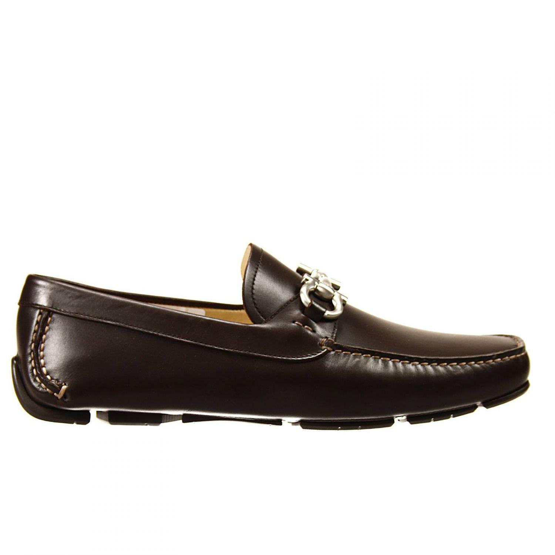 Salvatore Ferragamo Slip On Man Drivers Shoes