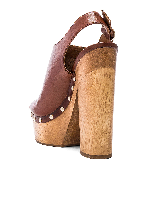 d6665961d6c Lyst - Steve Madden Slingshot Heels in Brown