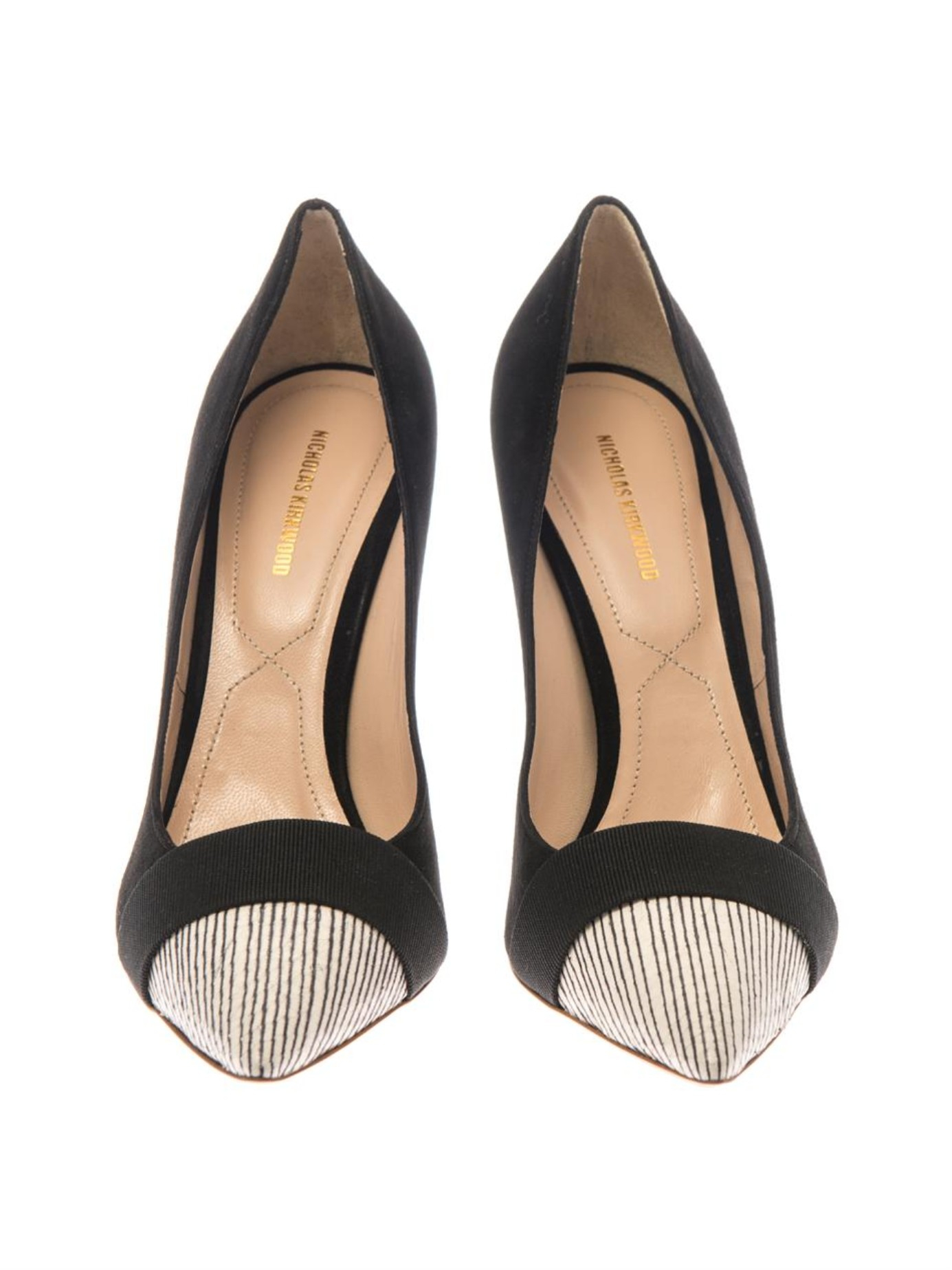 cheap sale latest collections big sale for sale Nicholas Kirkwood Pointed-Toe Snakeskin Pumps cheap cheap online discount footlocker 7iFrvbTIN