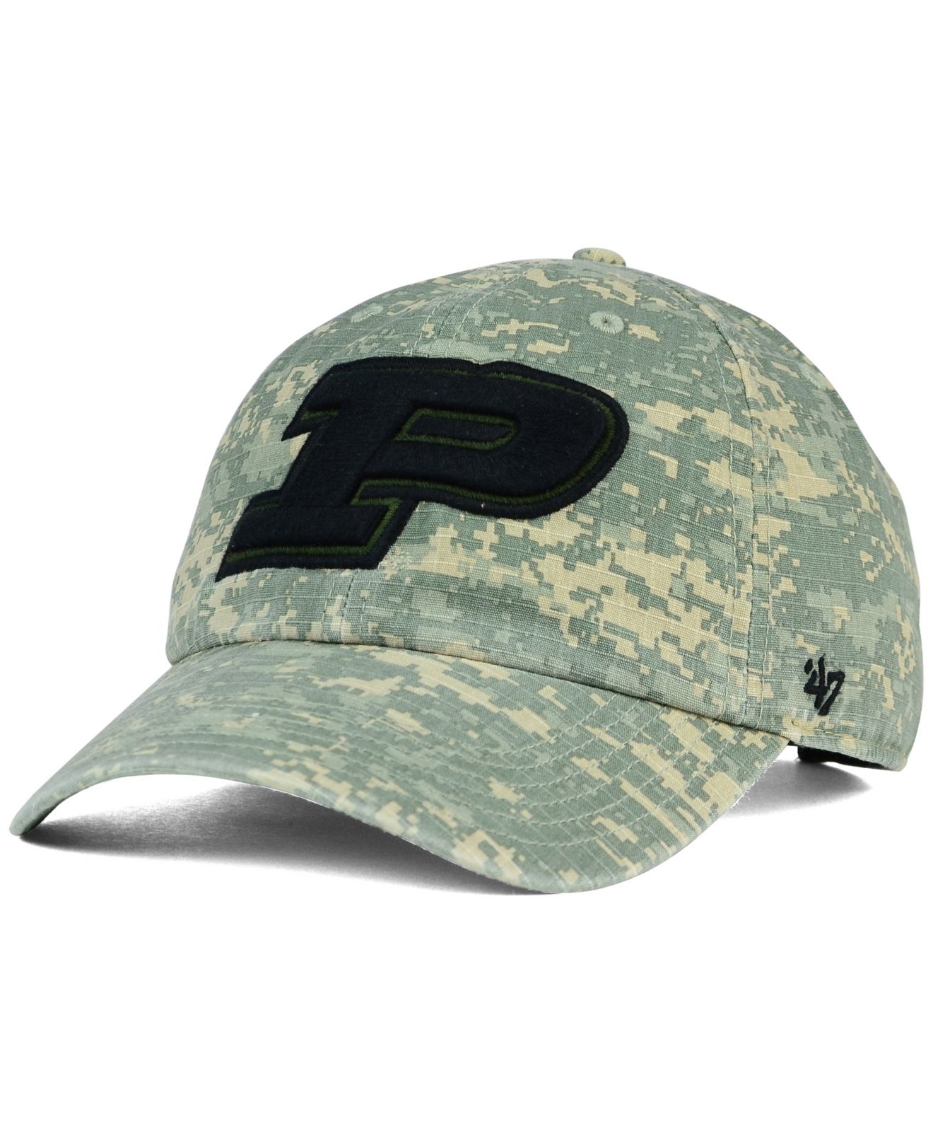 new concept 9014f 497af ... free shipping lyst 47 brand purdue boilermakers oht nilan clean up cap  in green 1b22f 4bb91