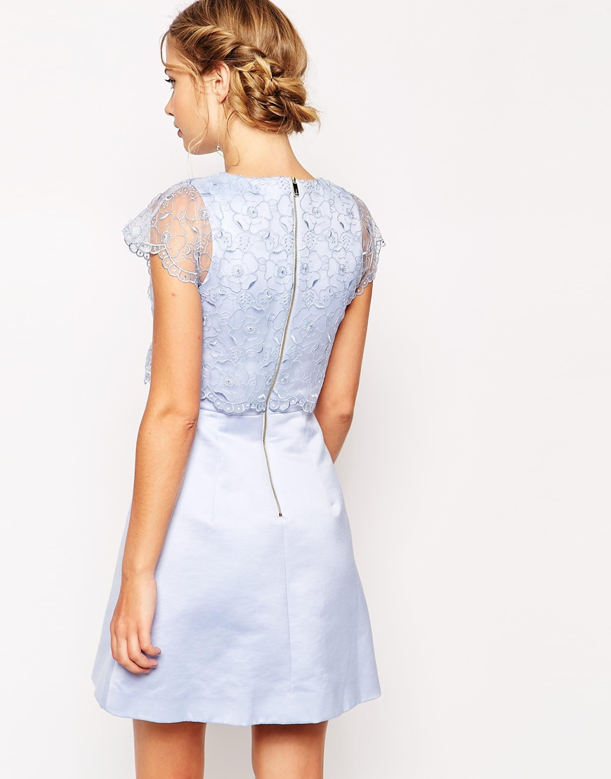 100+ [ Ted Baker Dress The Blue ] | Ted Baker Caree Floral ...