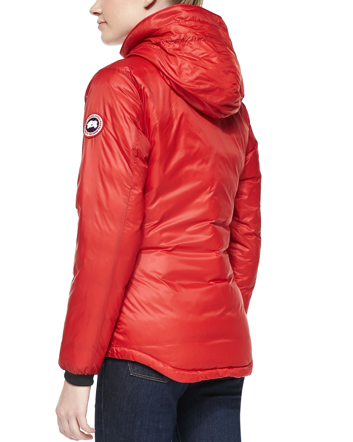 Canada Goose hats online shop - Canada goose Camp Hooded Packable Puffer Coat in Red | Lyst