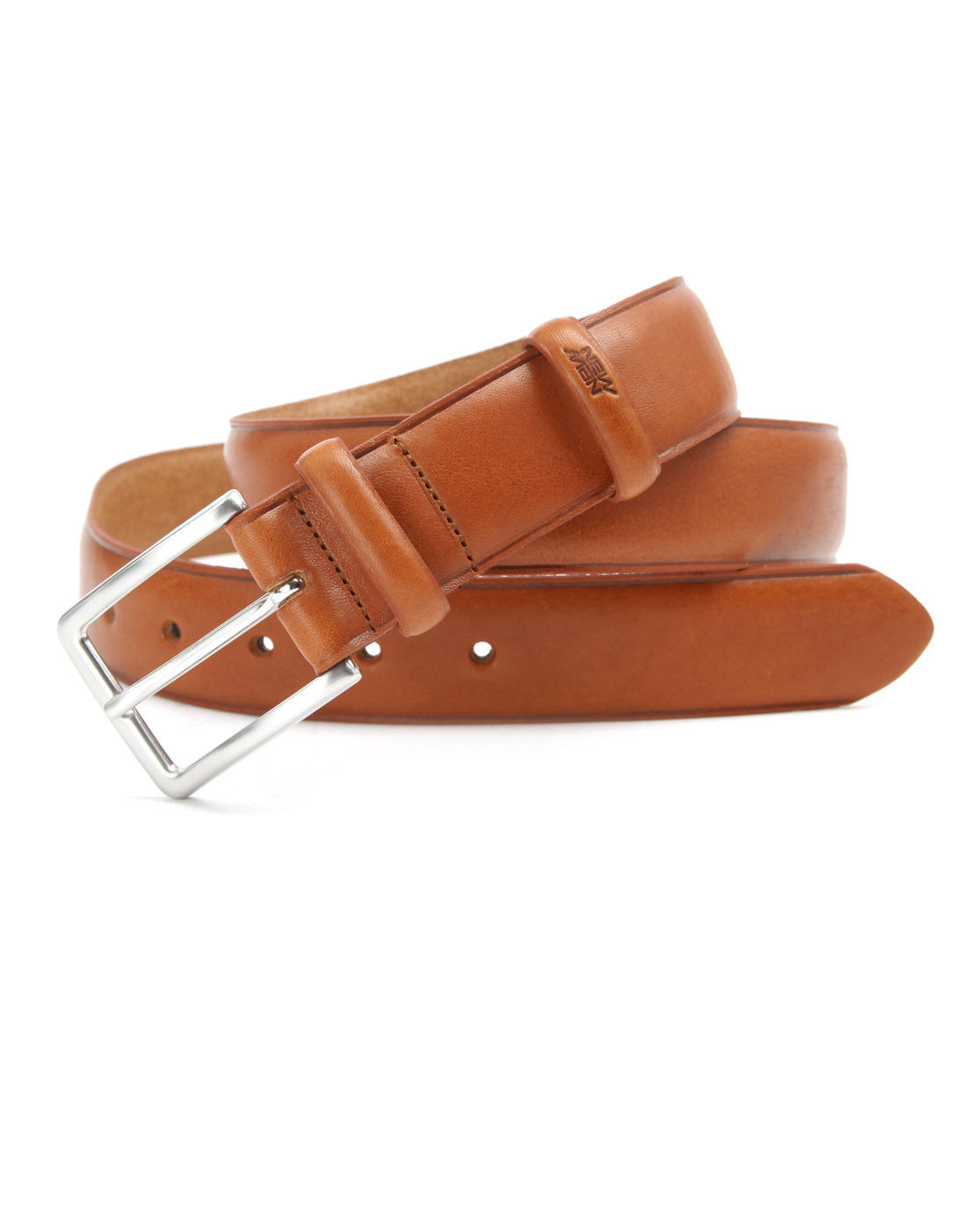 new cognac leather belt in brown for cognac lyst