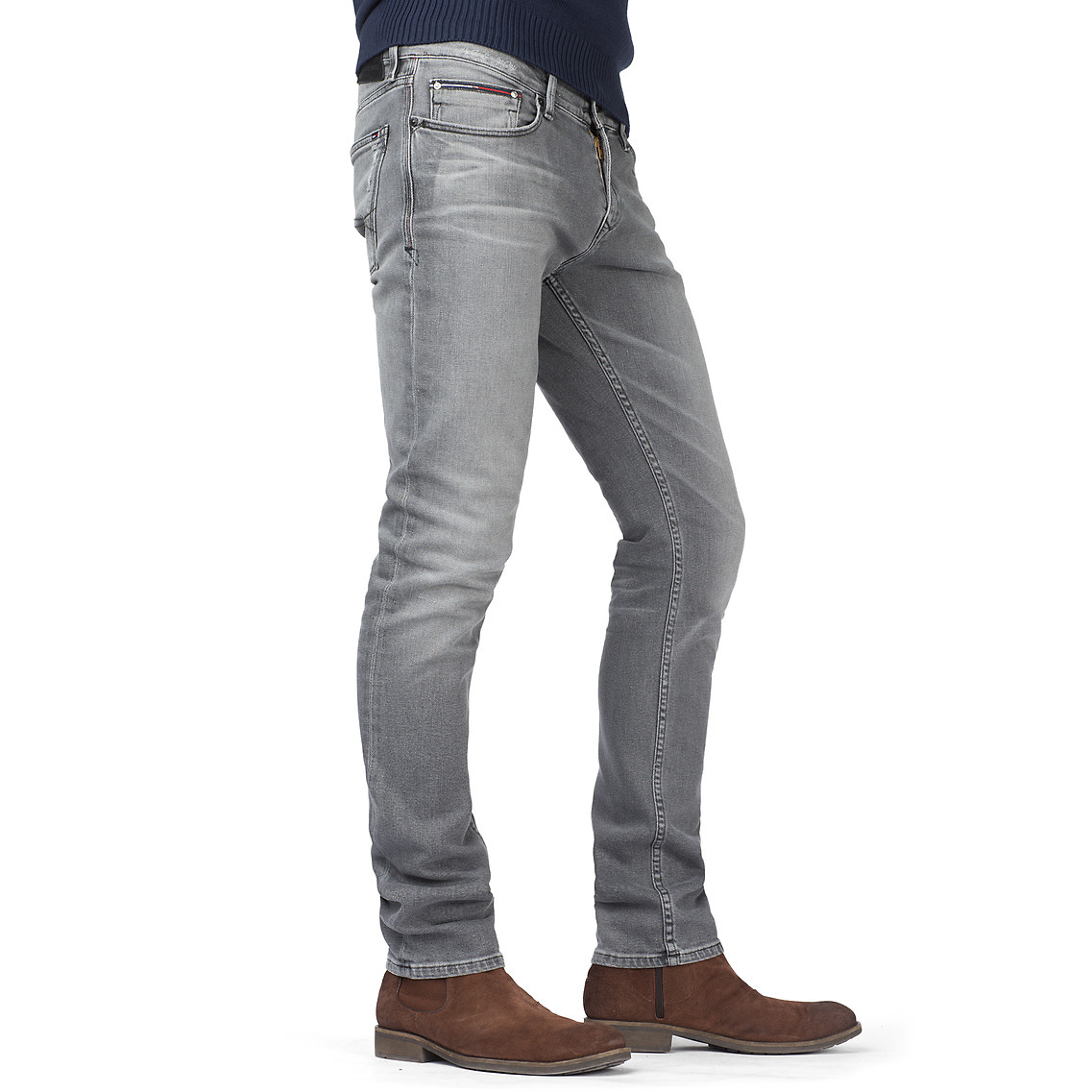 324b007c Tommy Hilfiger Sidney Super Slim Leg Jeans in Gray for Men - Lyst