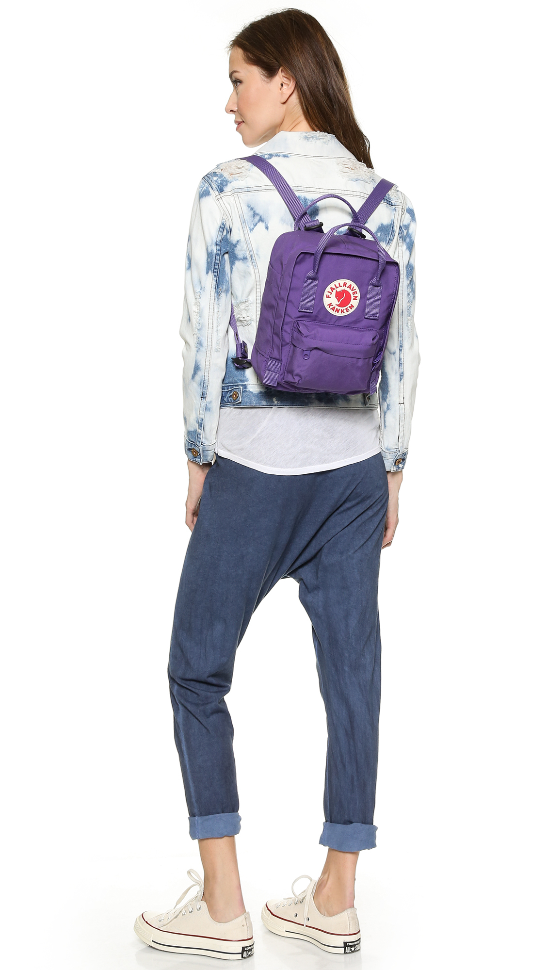 0aa5889eb4 Lyst - Fjallraven Kanken Mini Backpack - Purple in Purple