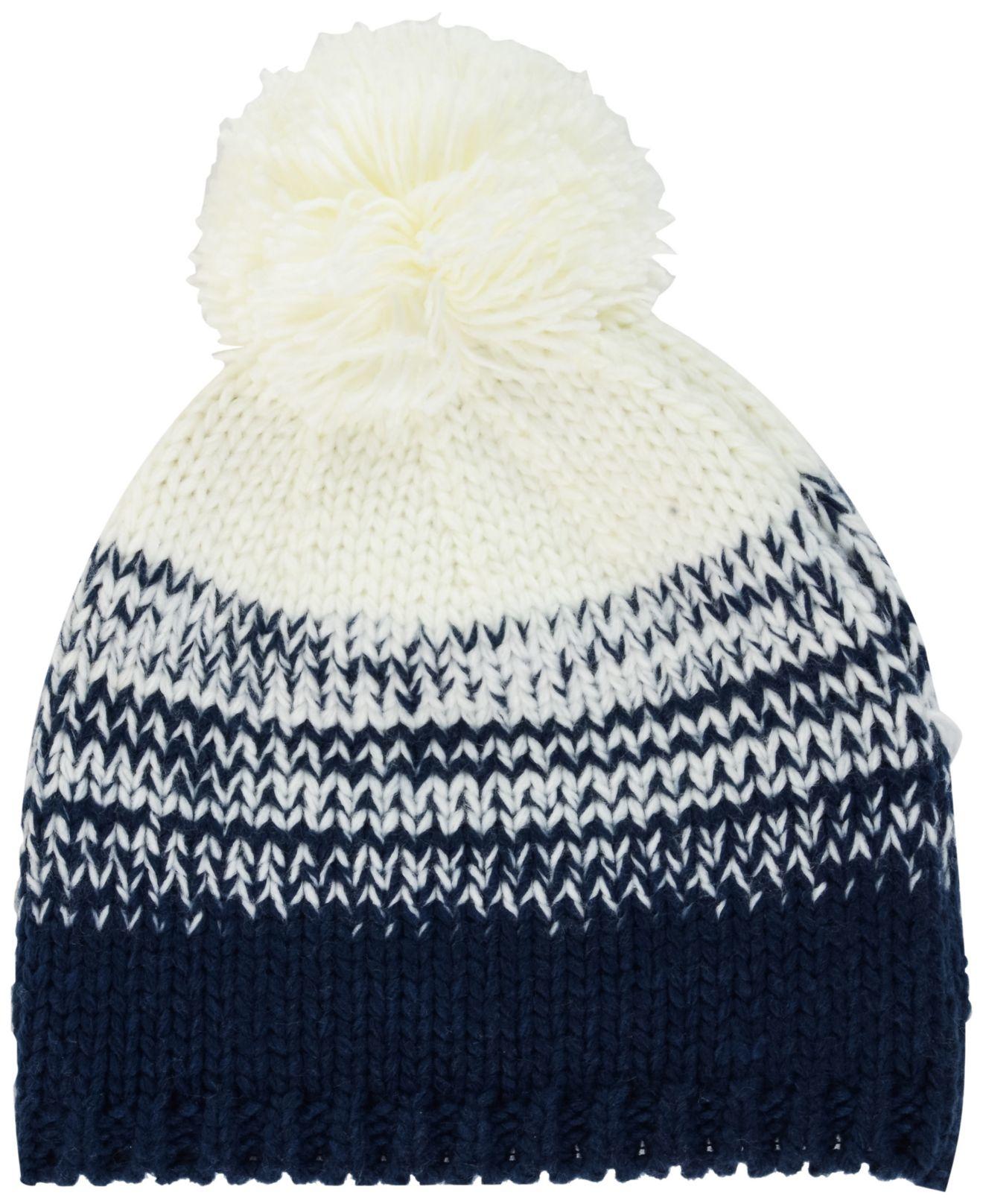 ... lyst ktz womens new england patriots polar dust knit hat in white fdeda  85525 uk womens new england patriots new era red 2018 nfl sideline cold  weather ... 971fab8ec73d